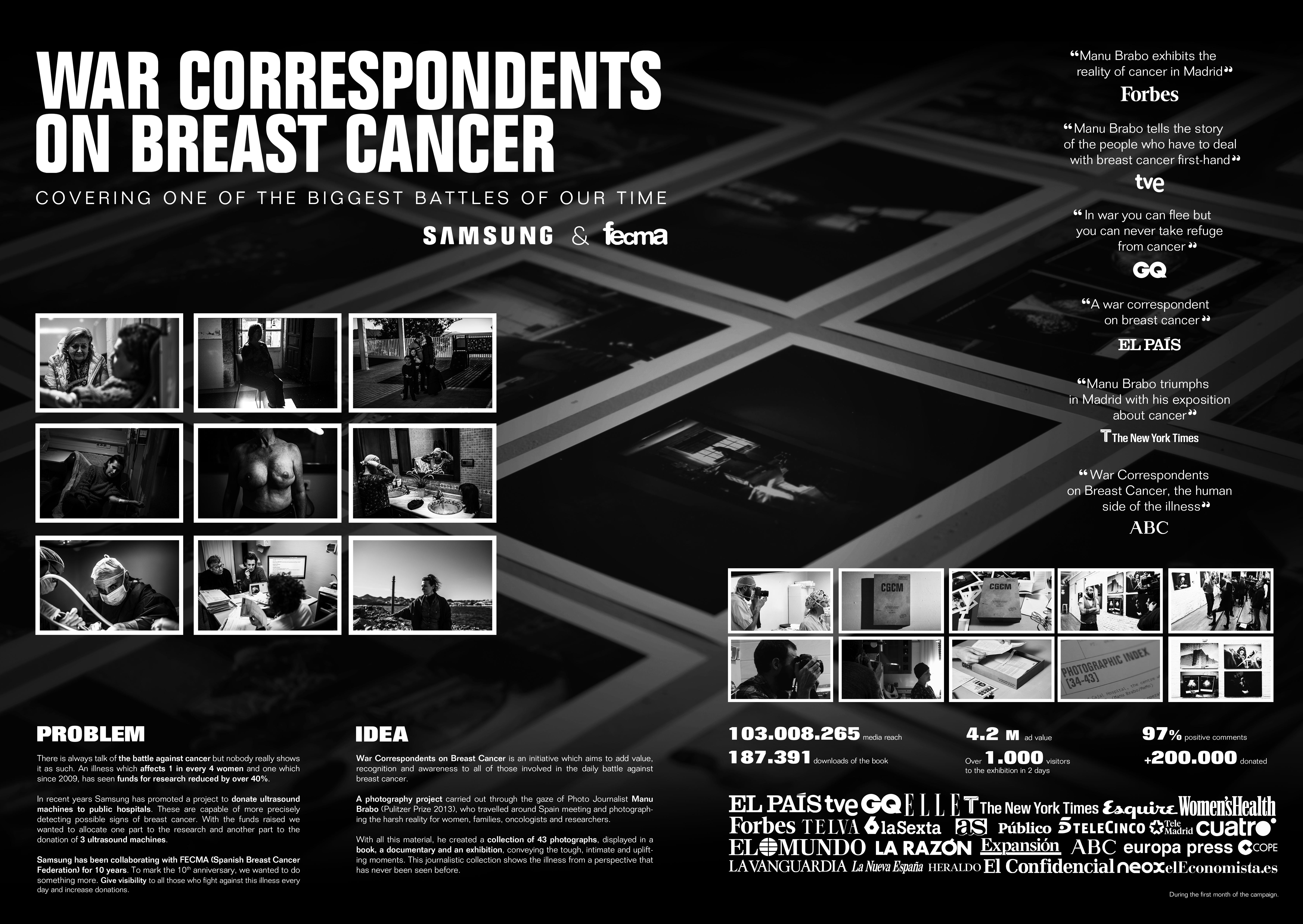 FECMA - WAR CORRESPONDENTS ON BREAST CANCER Thumbnail
