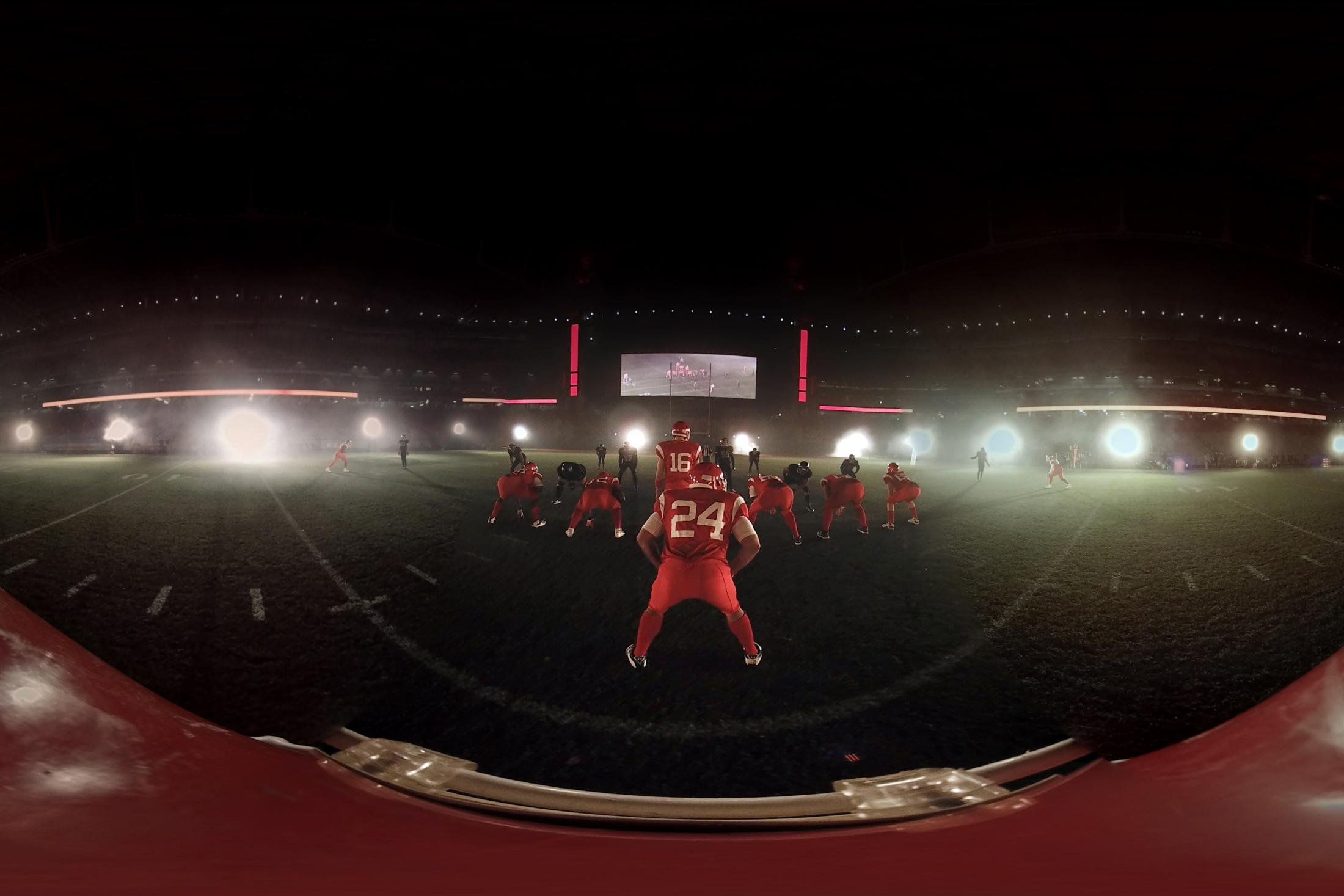 Image Media for Virtual Gridiron