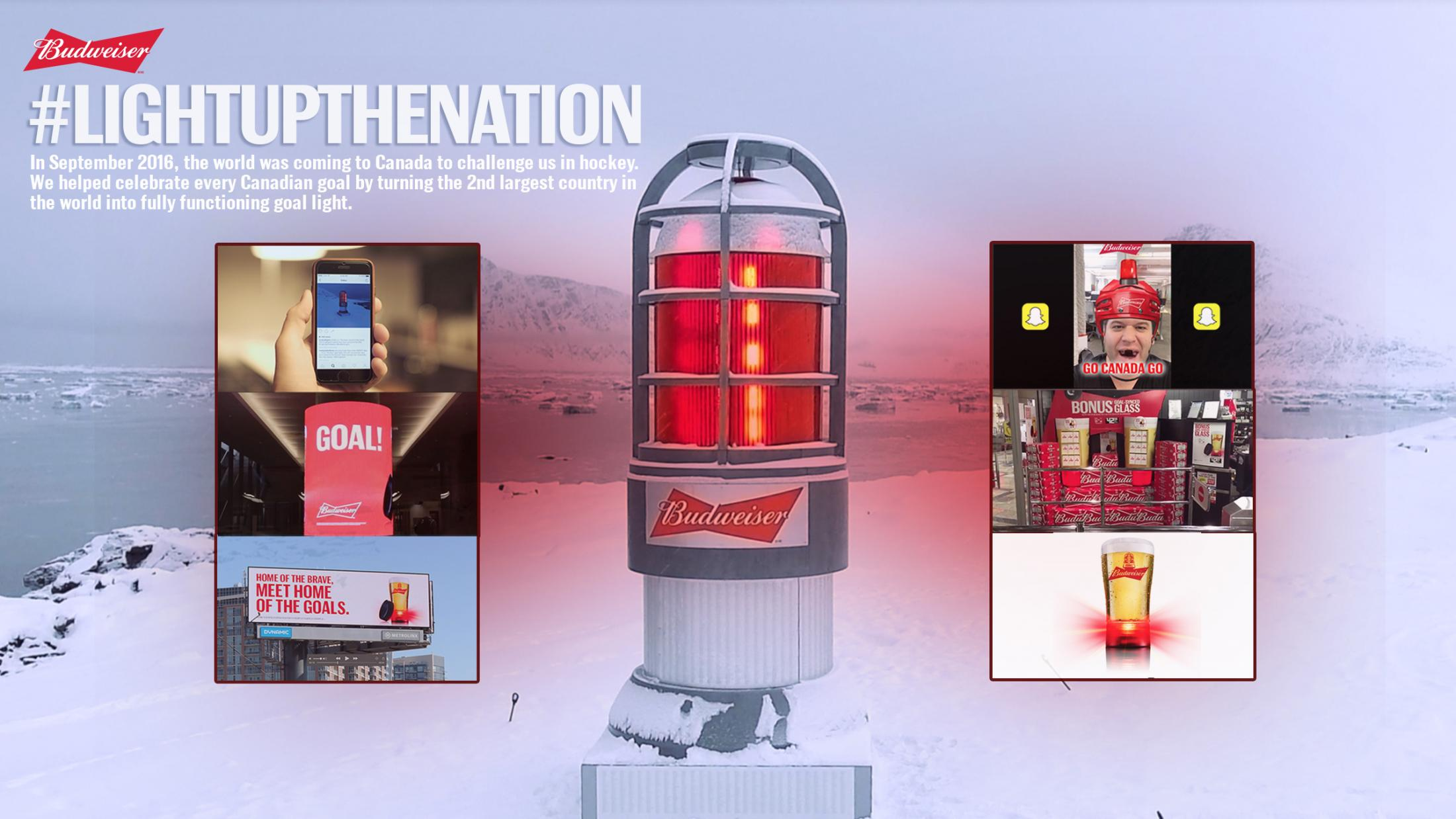 Thumbnail for Budweiser #LightUpTheNation