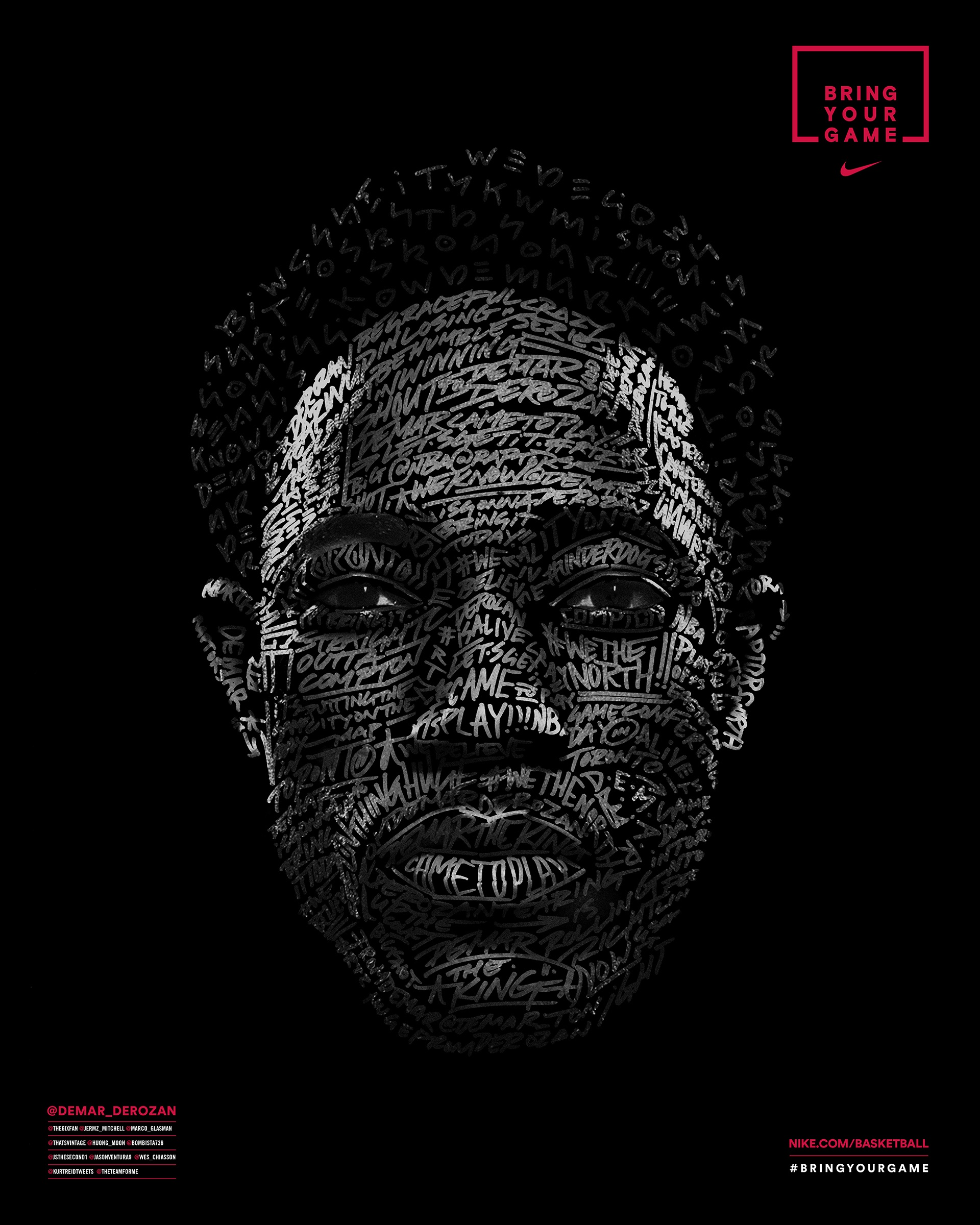 Thumbnail for Nike Face of the Fans - DeMar DeRozan