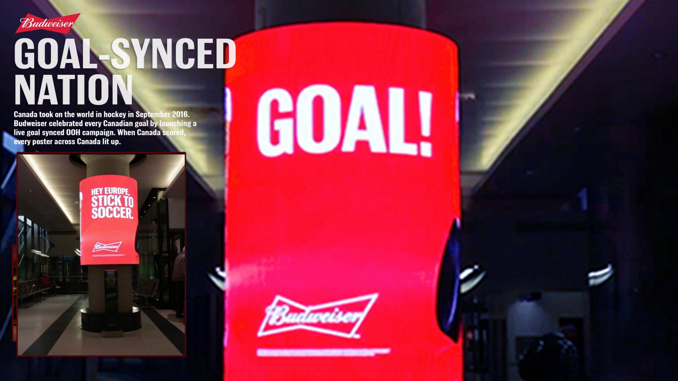Thumbnail for Budweiser Goal-Synced Nation
