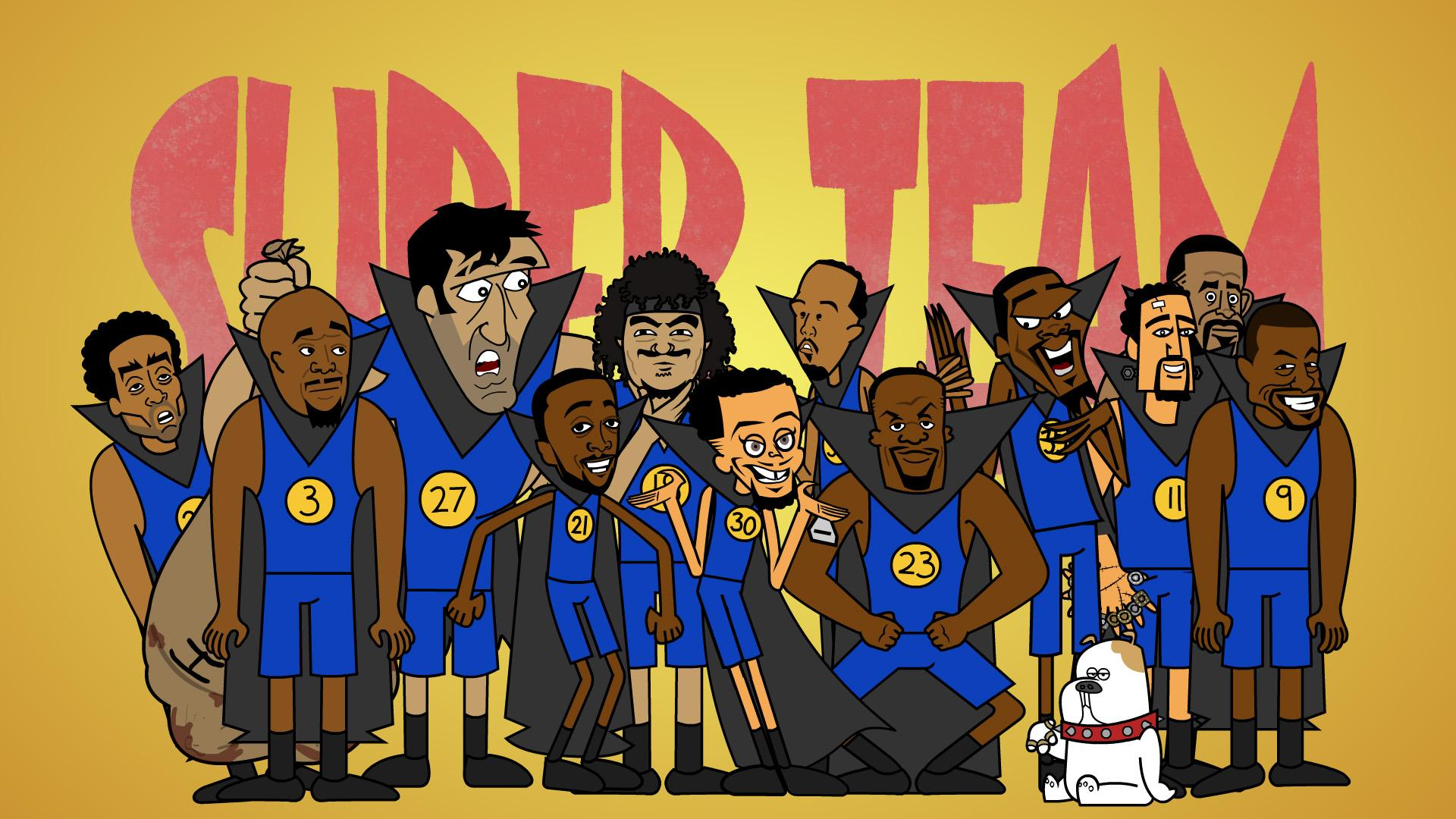 Thumbnail for Super Team: A Warriors Musical