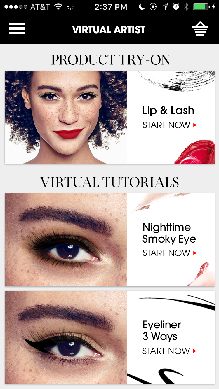 Image Media for Sephora Virtual Artist