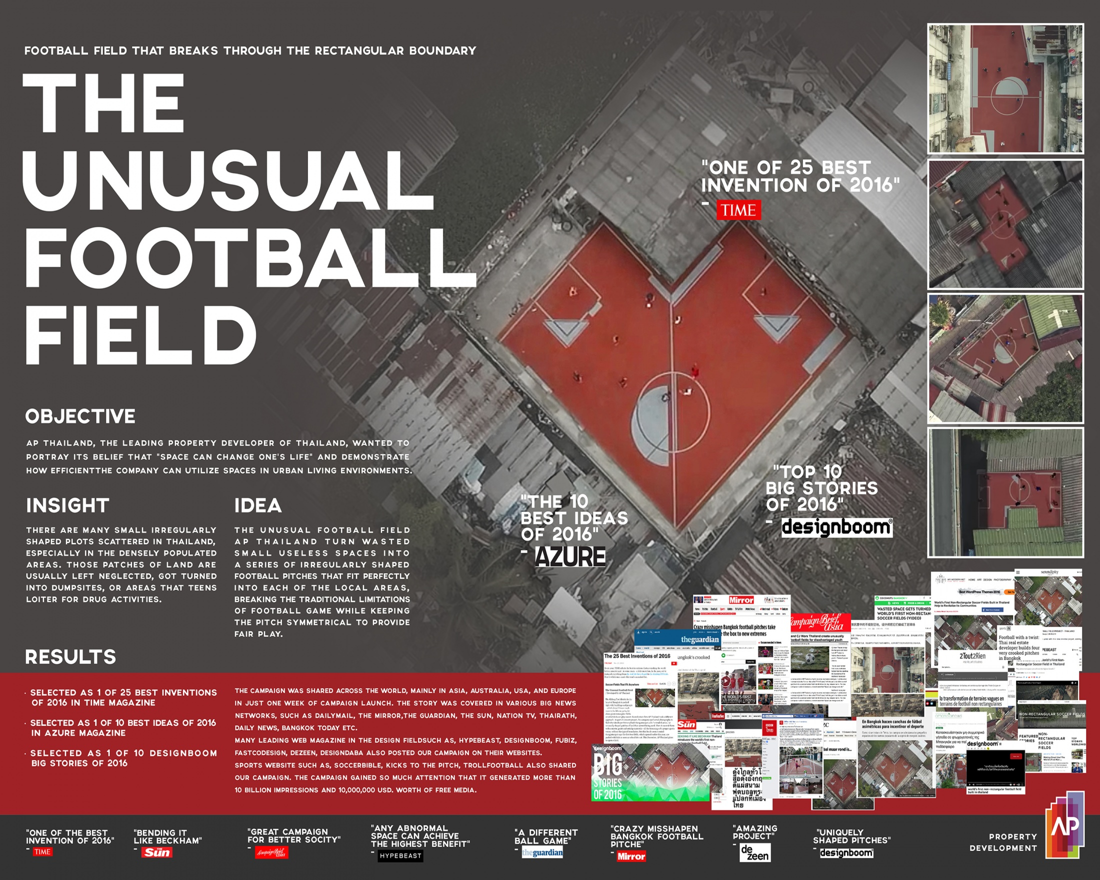 Thumbnail for The Unusual Football Field Project