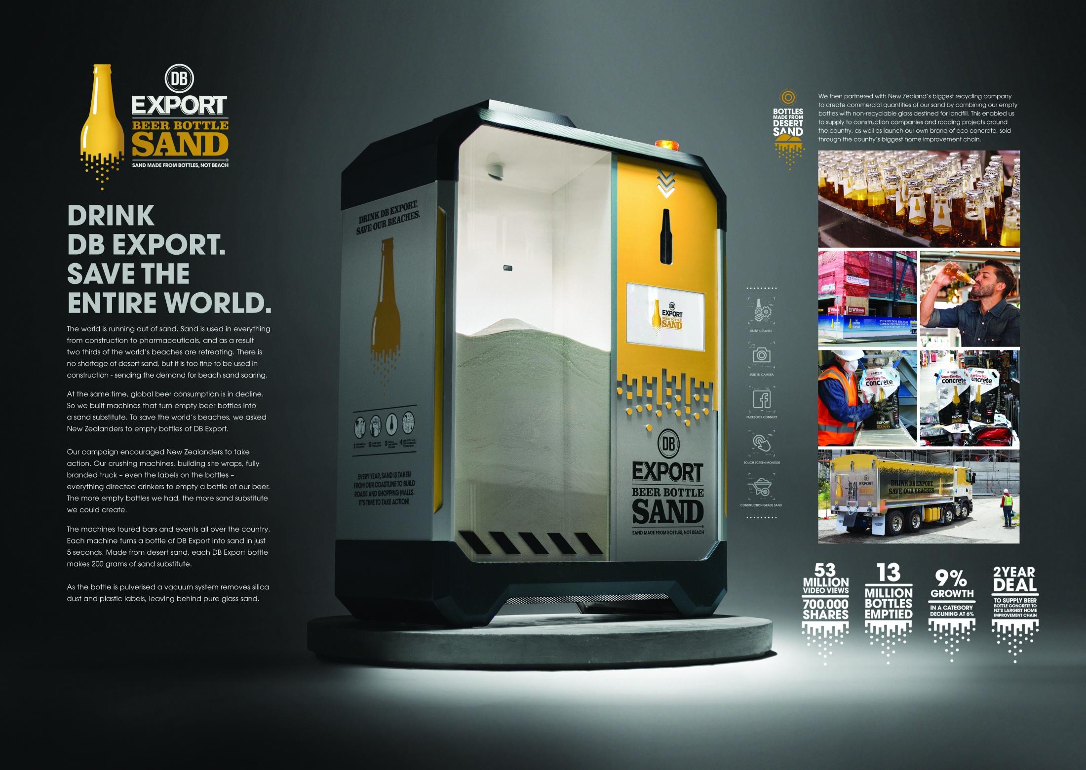 Thumbnail for DB Export Beer Bottle Sand