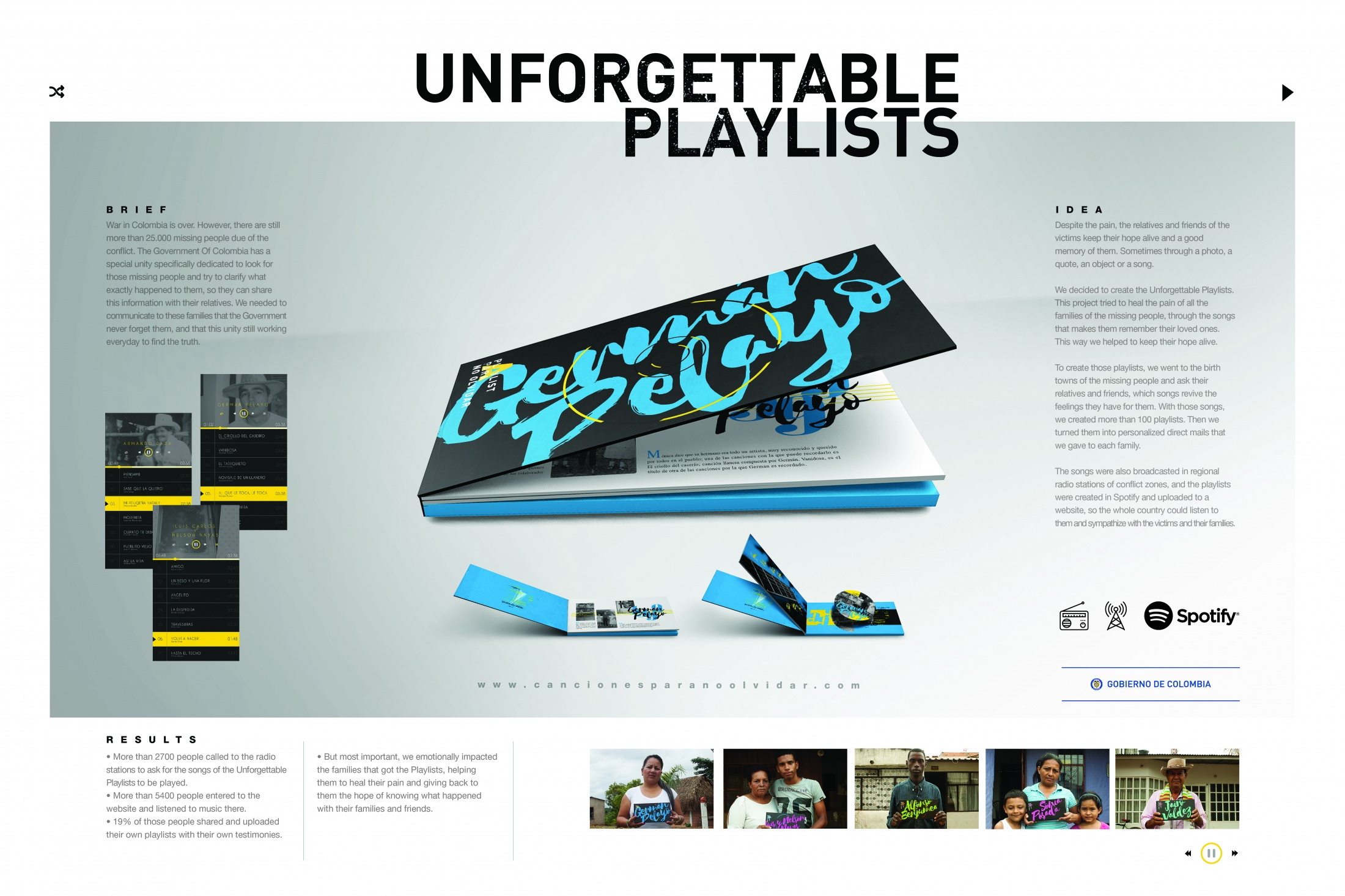 Thumbnail for UNFORGETTABLE PLAYLISTS