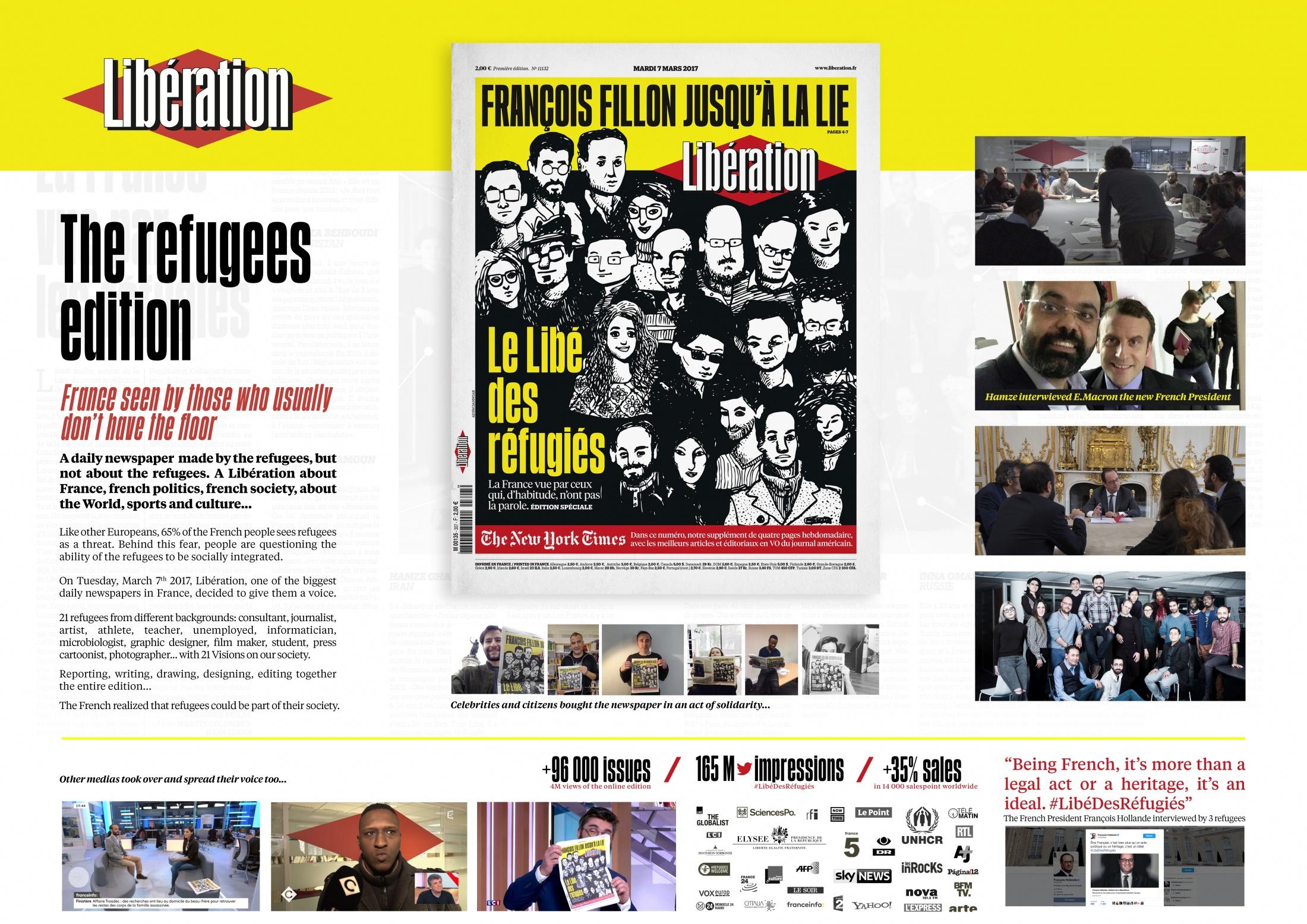 Thumbnail for Libé Des Réfugiés