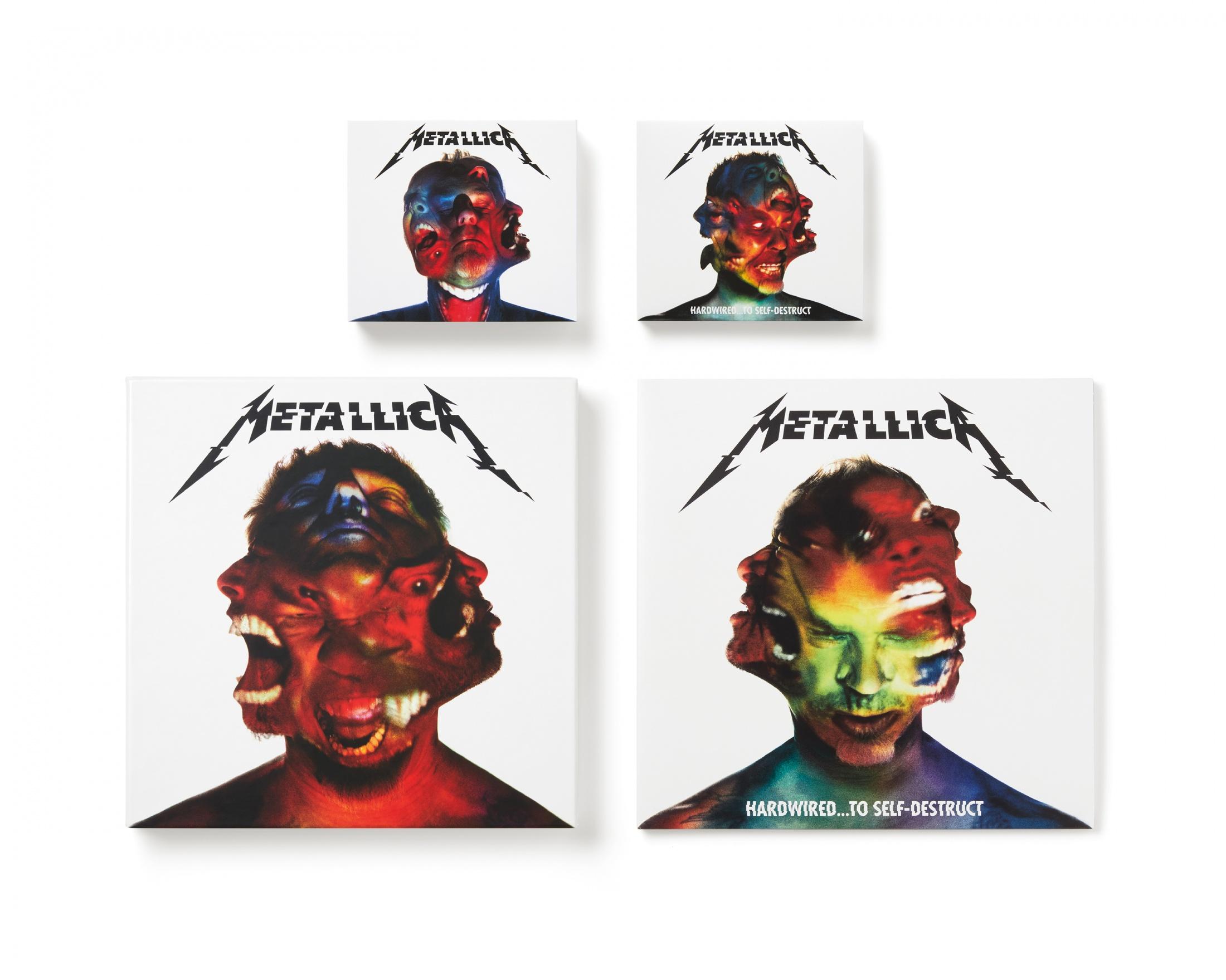 Thumbnail for Metallica Hardwired... to Self-Destruct album design