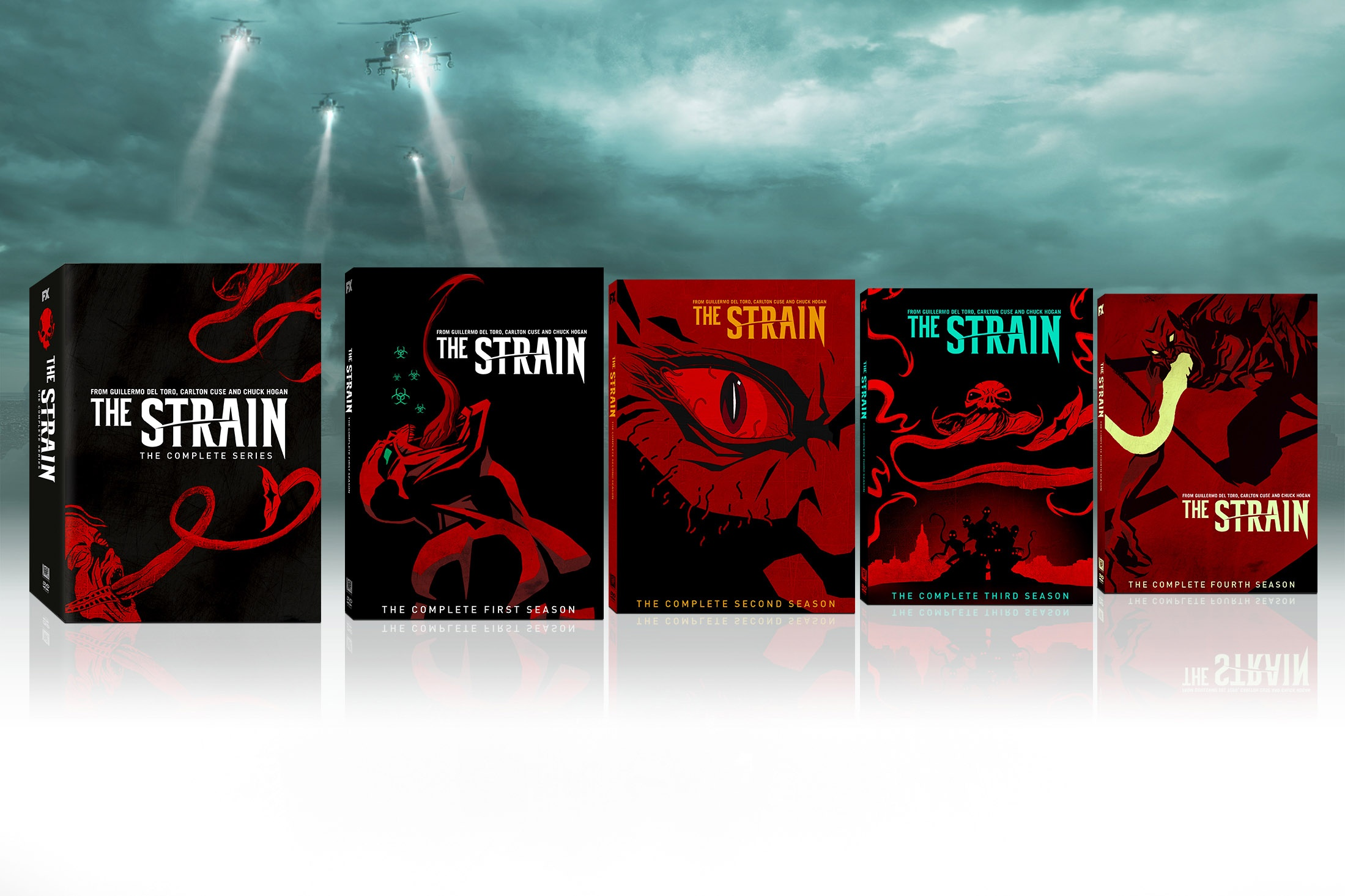 Thumbnail for The Strain Seasons 1-4 and Complete Series Comic-Con Exclusives