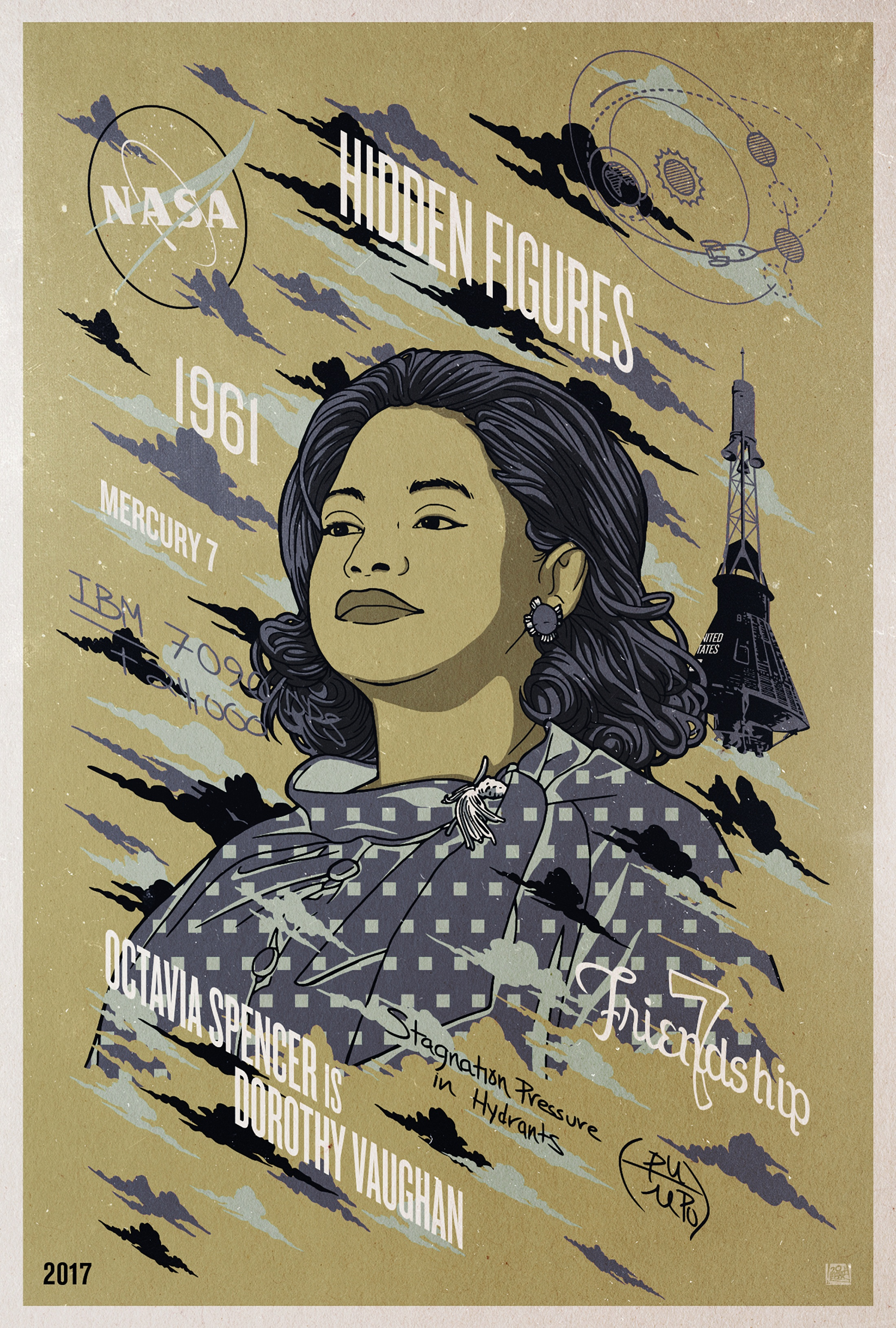 Thumbnail for COPY OF: COPY OF: Hidden Figures - Character Series