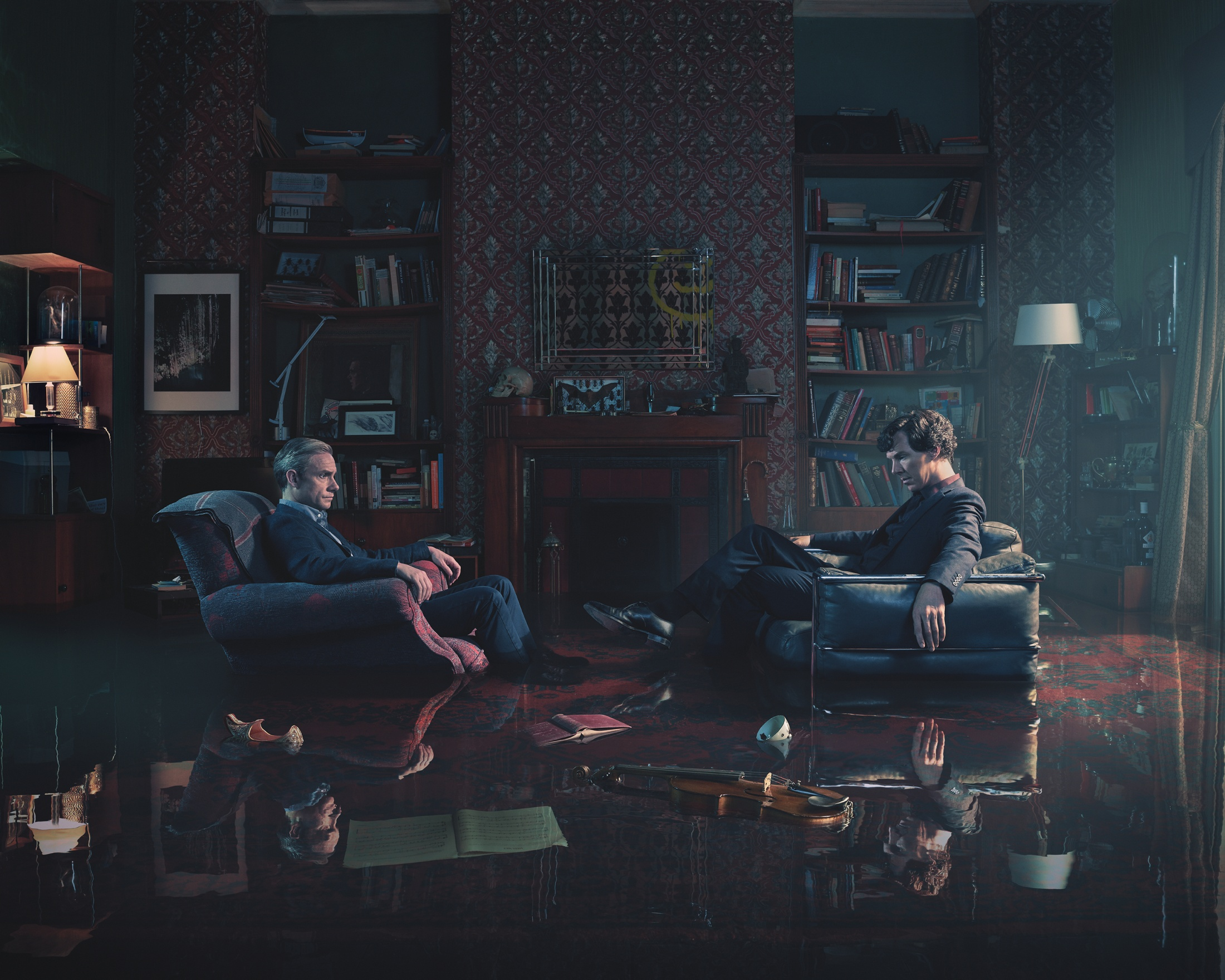 Thumbnail for Sherlock 'It's Not a Game Anymore'