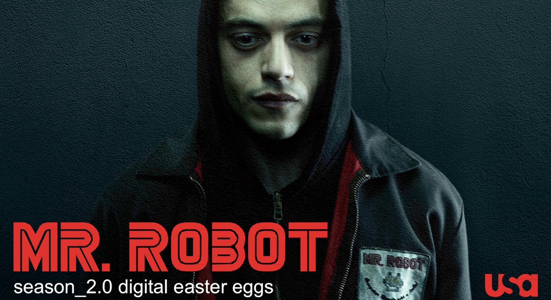Thumbnail for Mr. Robot Season 2 Digital Easter Eggs