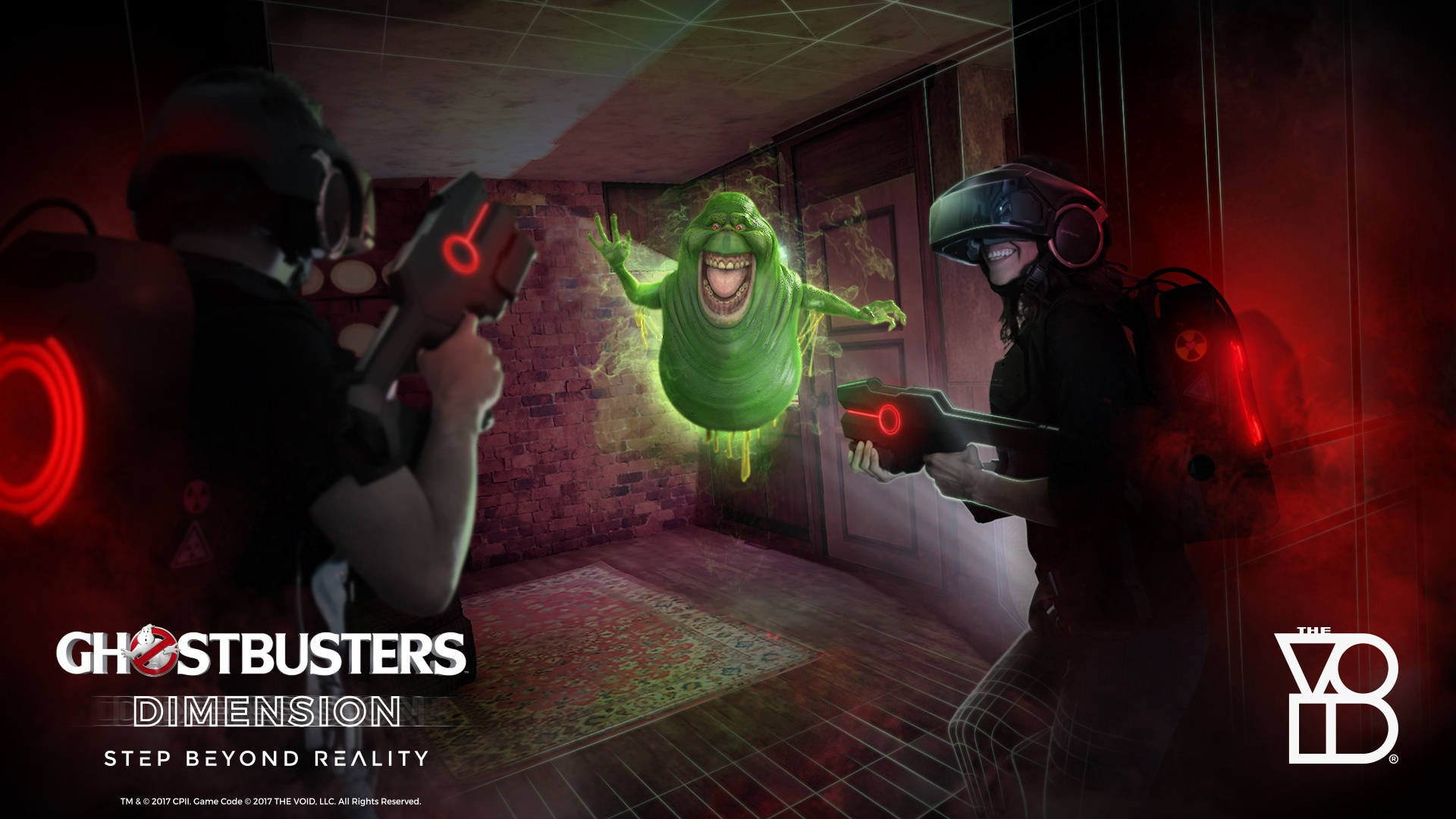 Thumbnail for Step Beyond Reality with THE VOID's Ghostbusters: Dimension