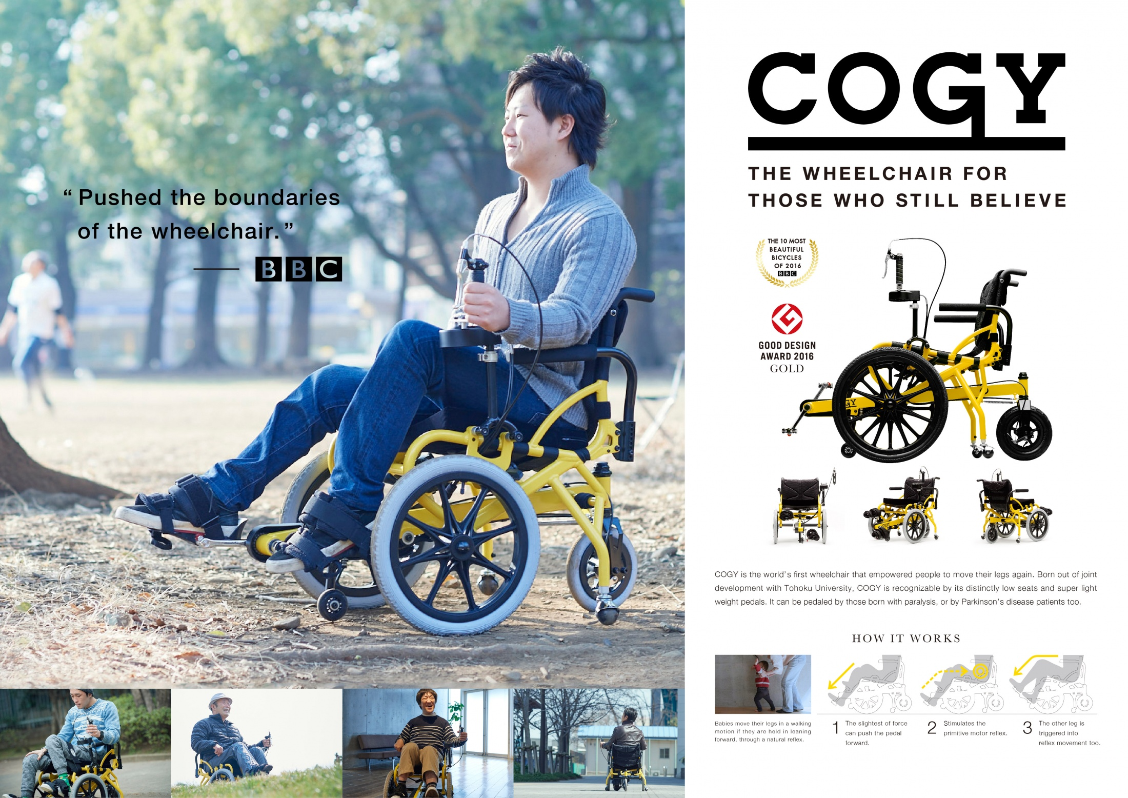 Thumbnail for COGY Wheelchair