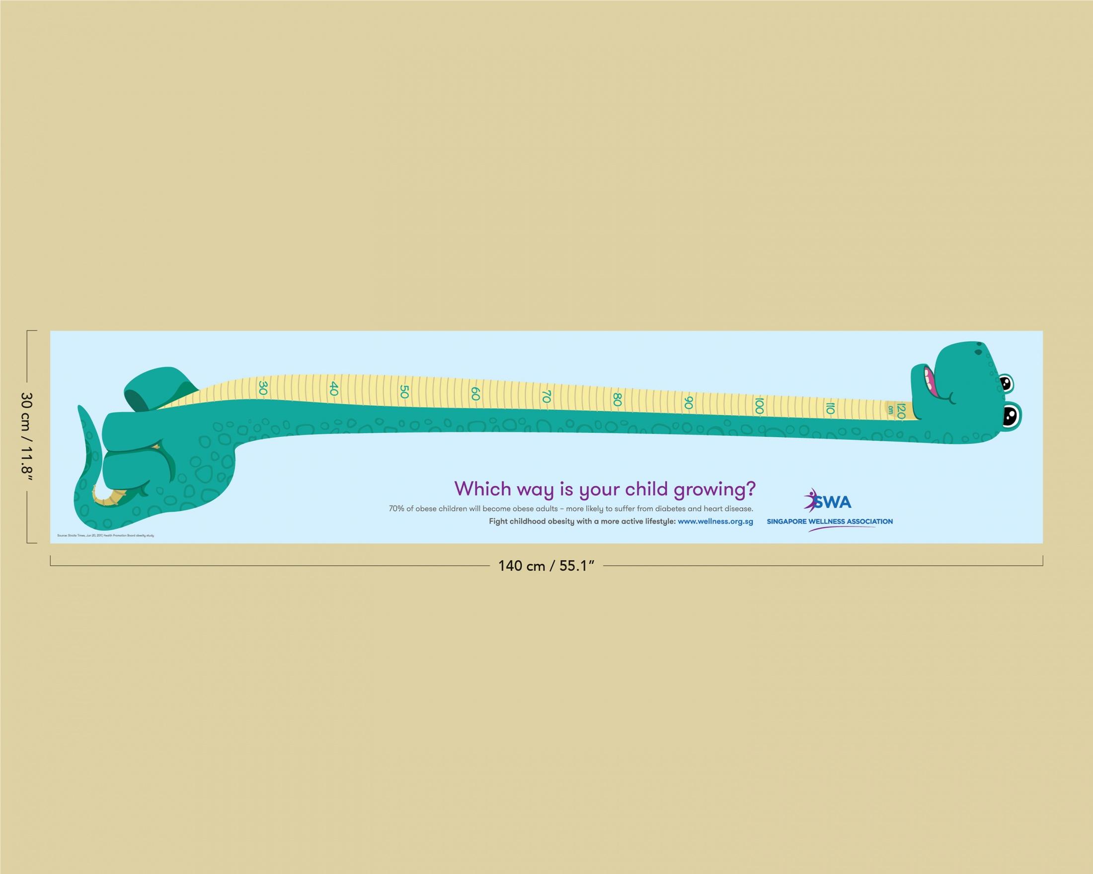 Singapore Wellness Association Sideways Growth Charts Dinosaur