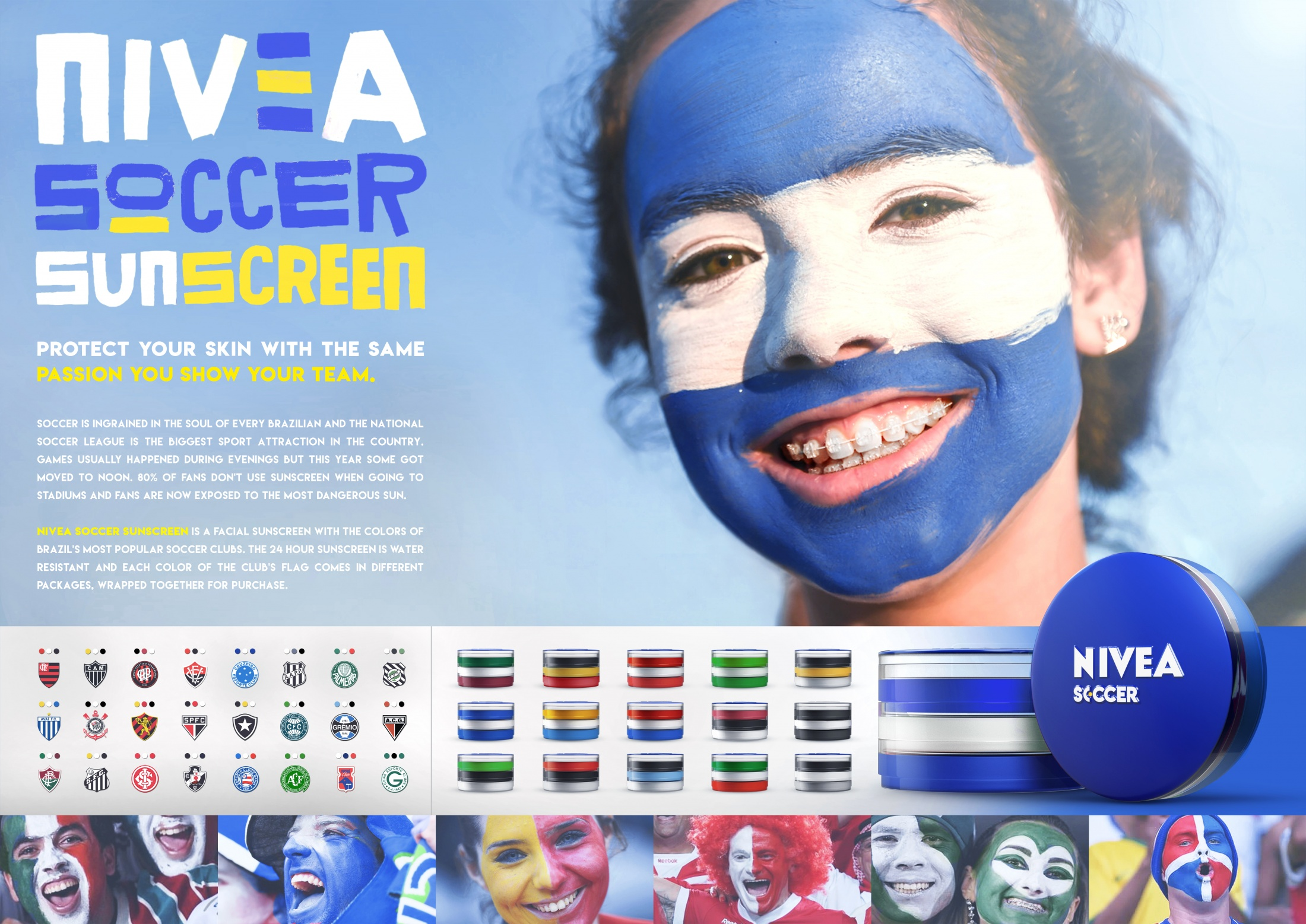 Image Media for Nivea Soccer Sunscreen