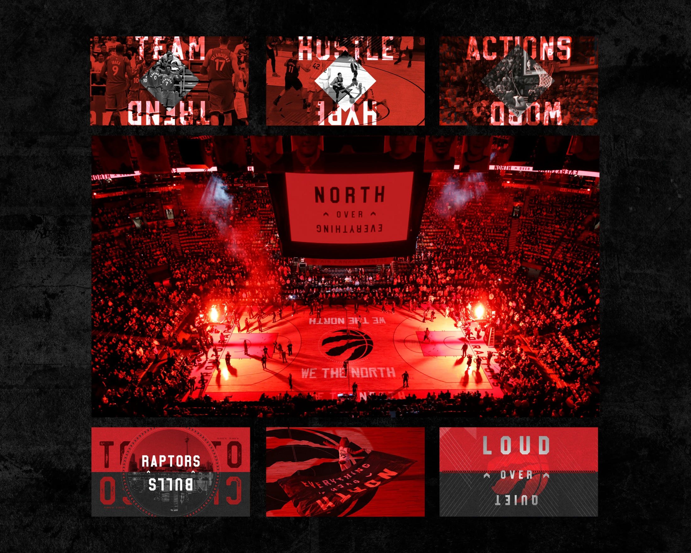Thumbnail for Toronto Raptors 'North Over Everything'