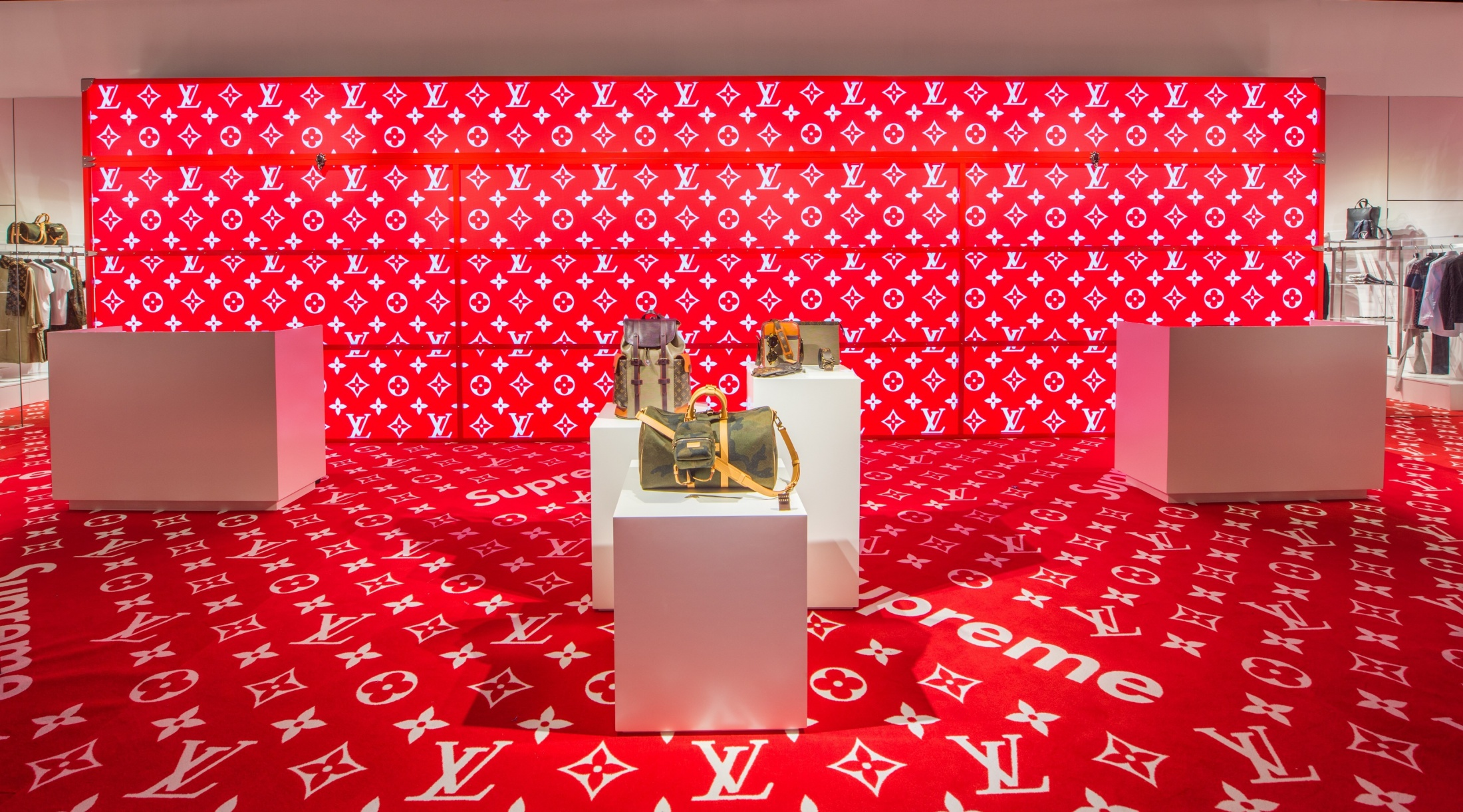 Image Media for Louis Vuitton x Supreme