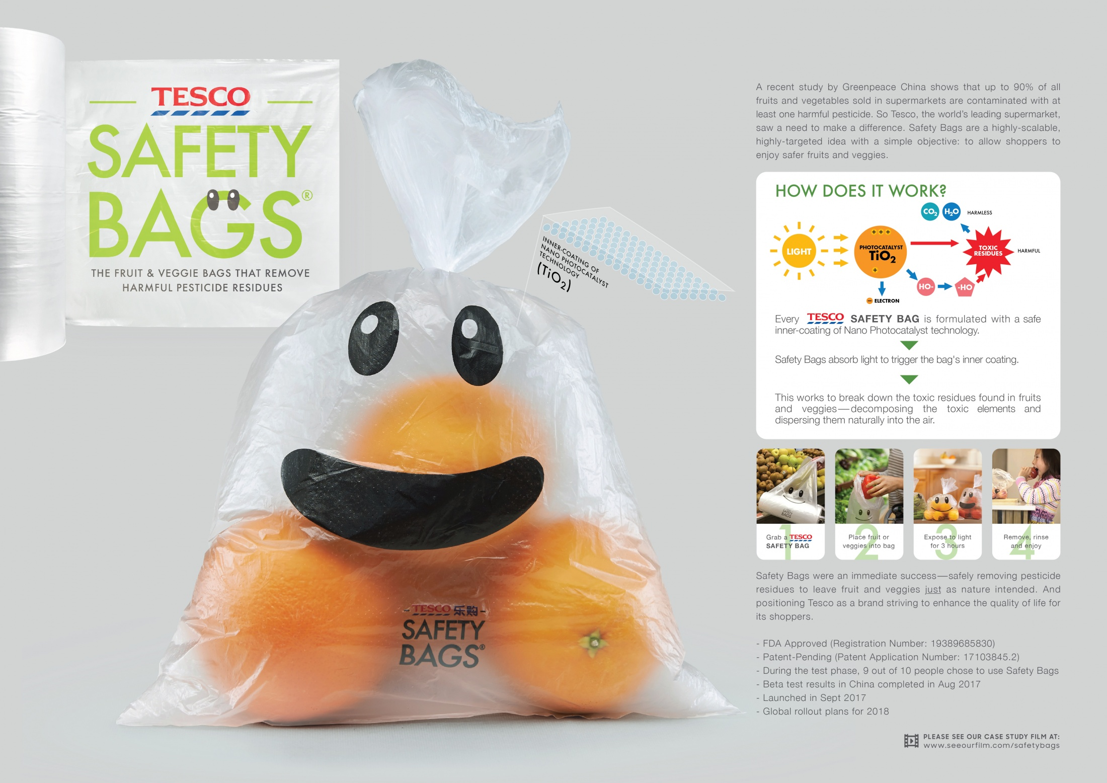 Image Media for  Safety Bags