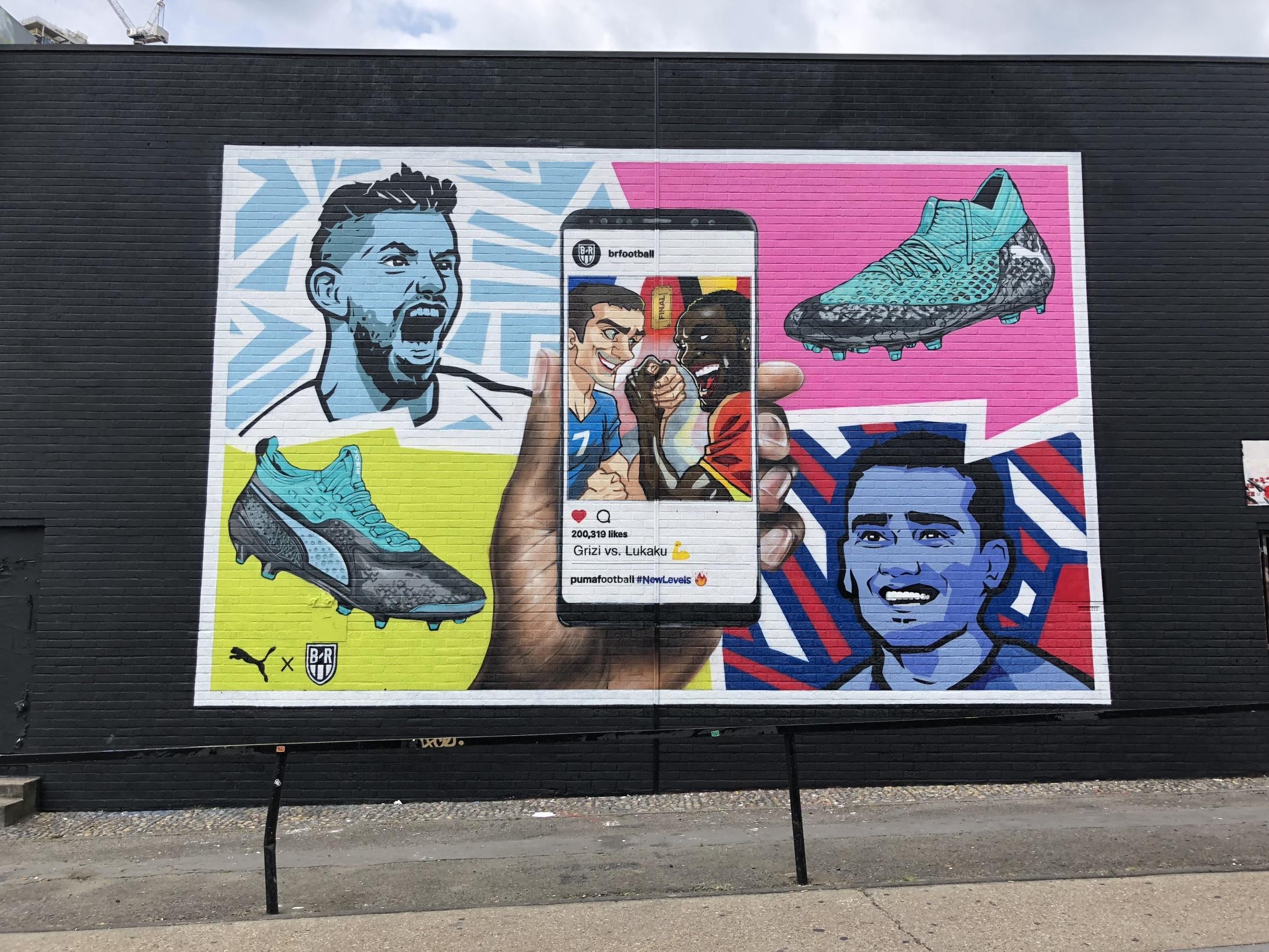 Thumbnail for Puma (UK) x B/R Football - Interactive Football Murals