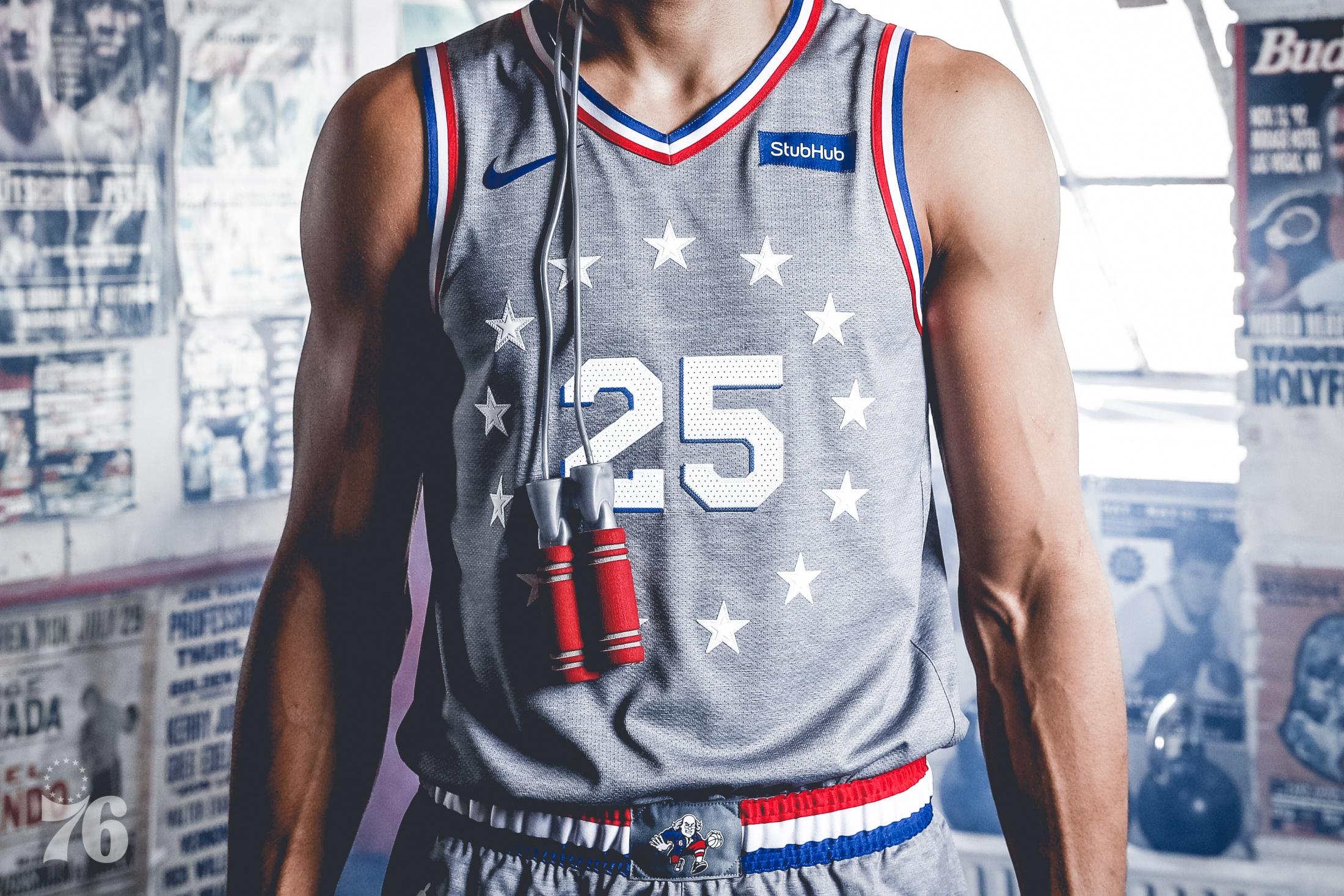 Thumbnail for Philadelphia 76ers - City Edition - 2018 City Edition Design