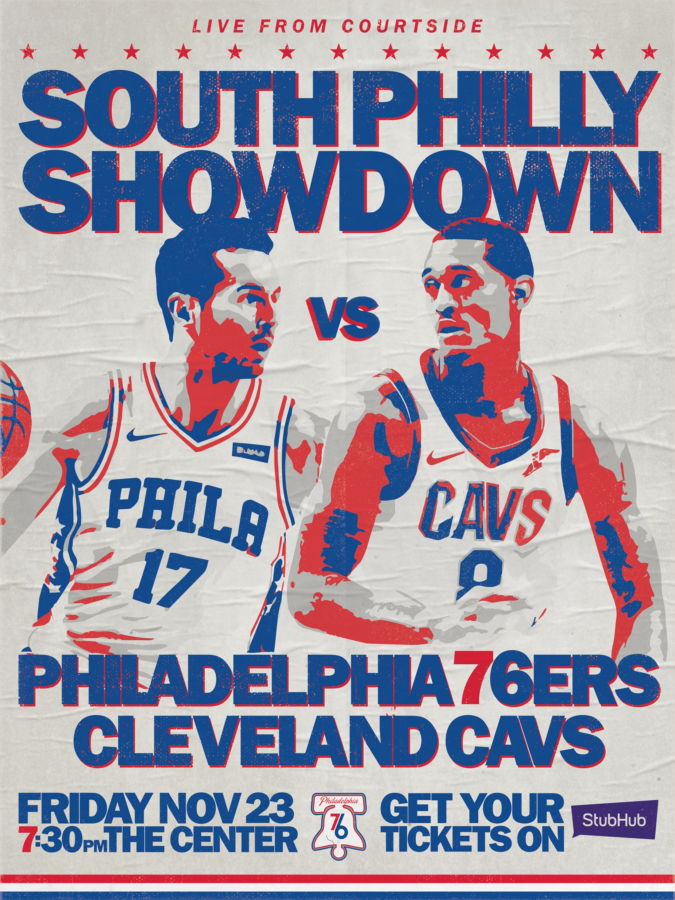 Thumbnail for Philadelphia 76ers - City Edition - 2018 City Edition Design