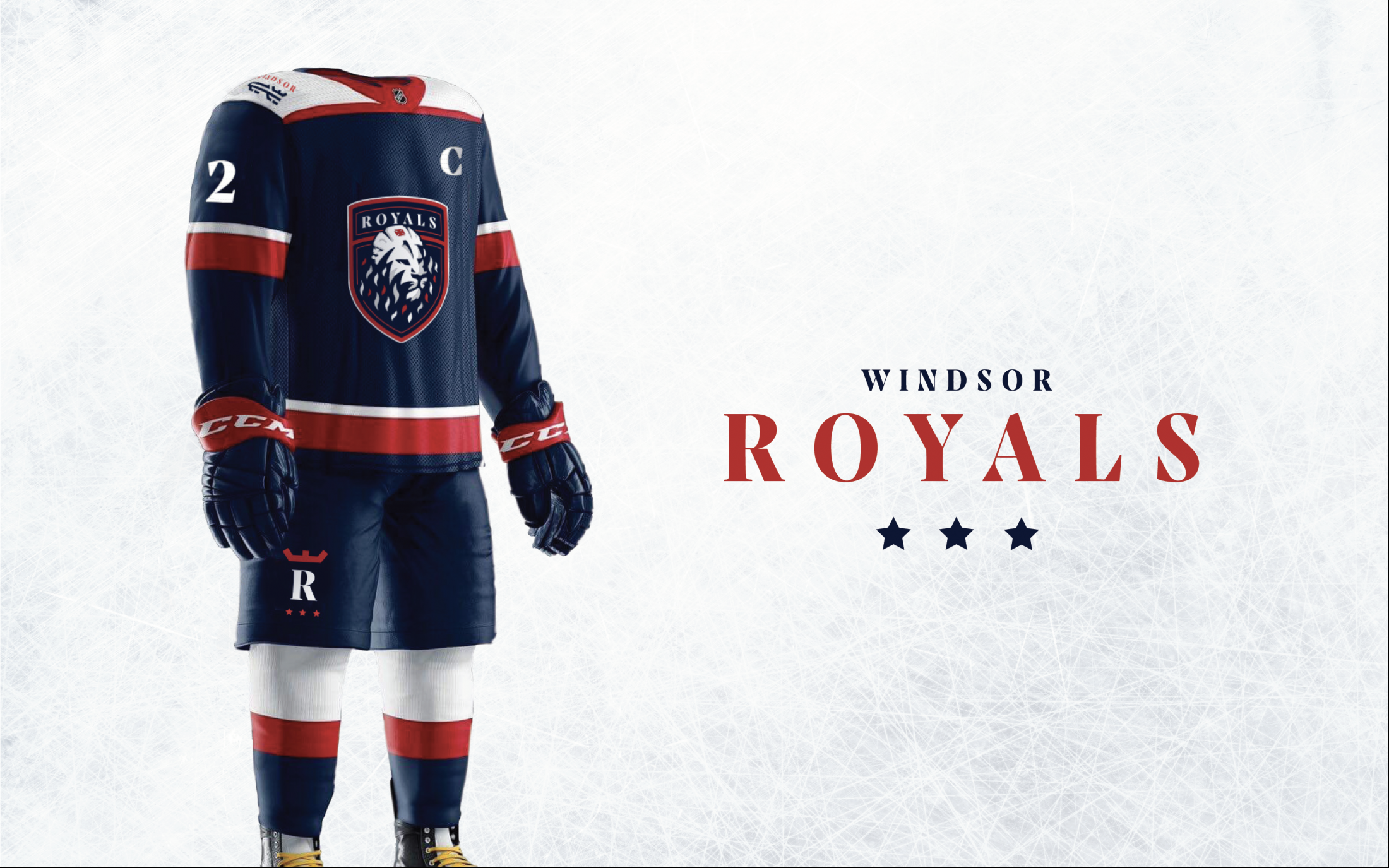 Thumbnail for Windsor Royals Branding