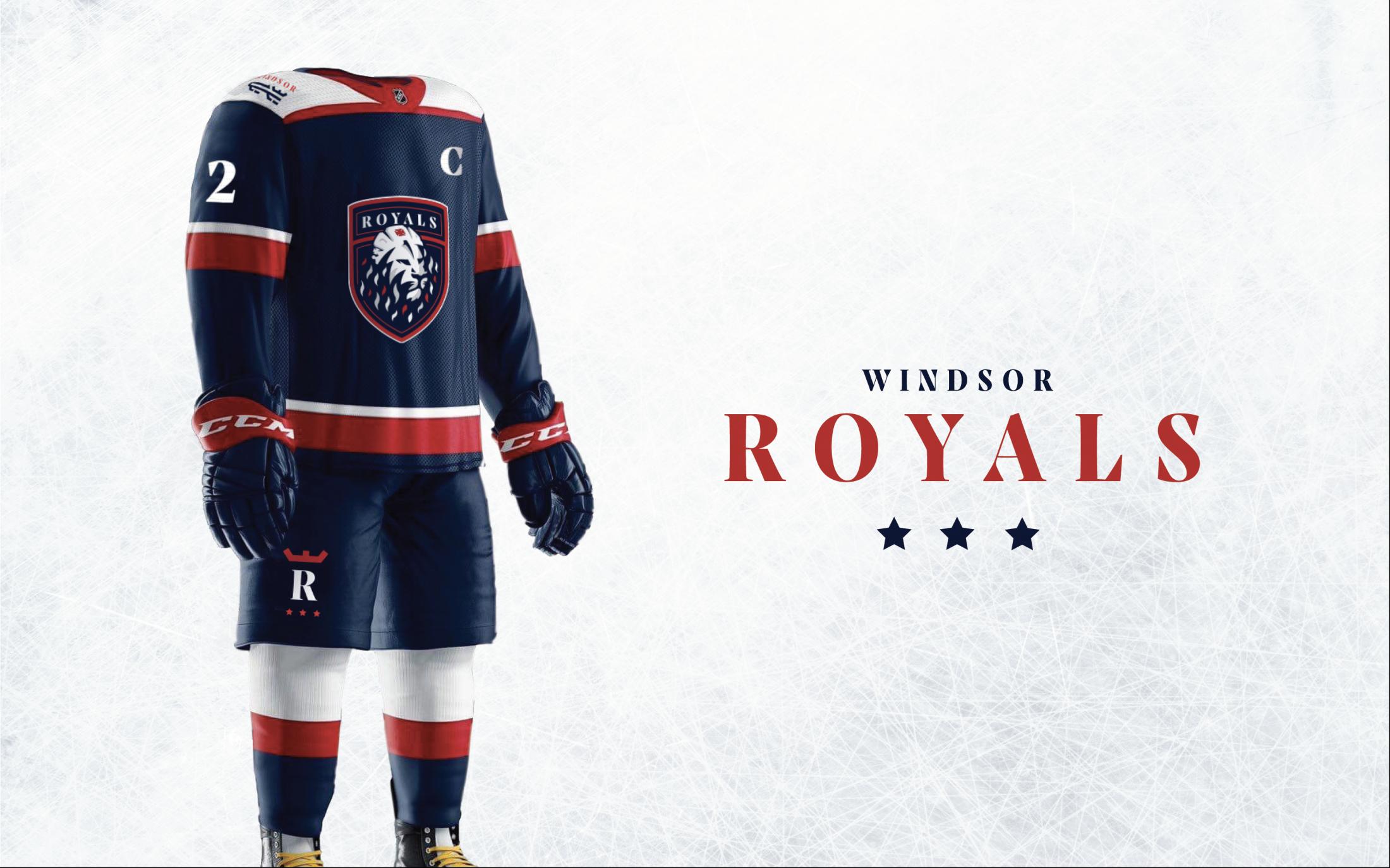 Thumbnail for Windsor Royals Branding