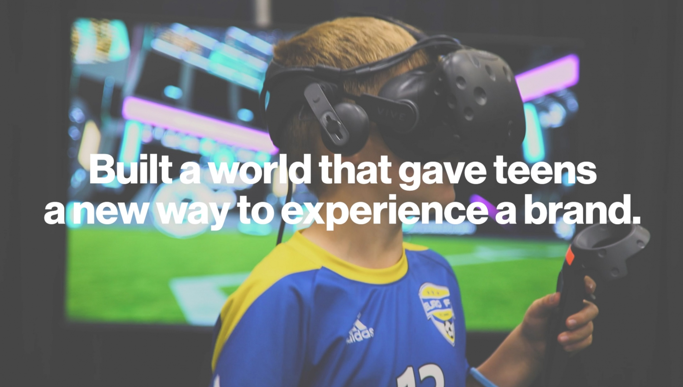 Image Media for VR Soccer Challenge