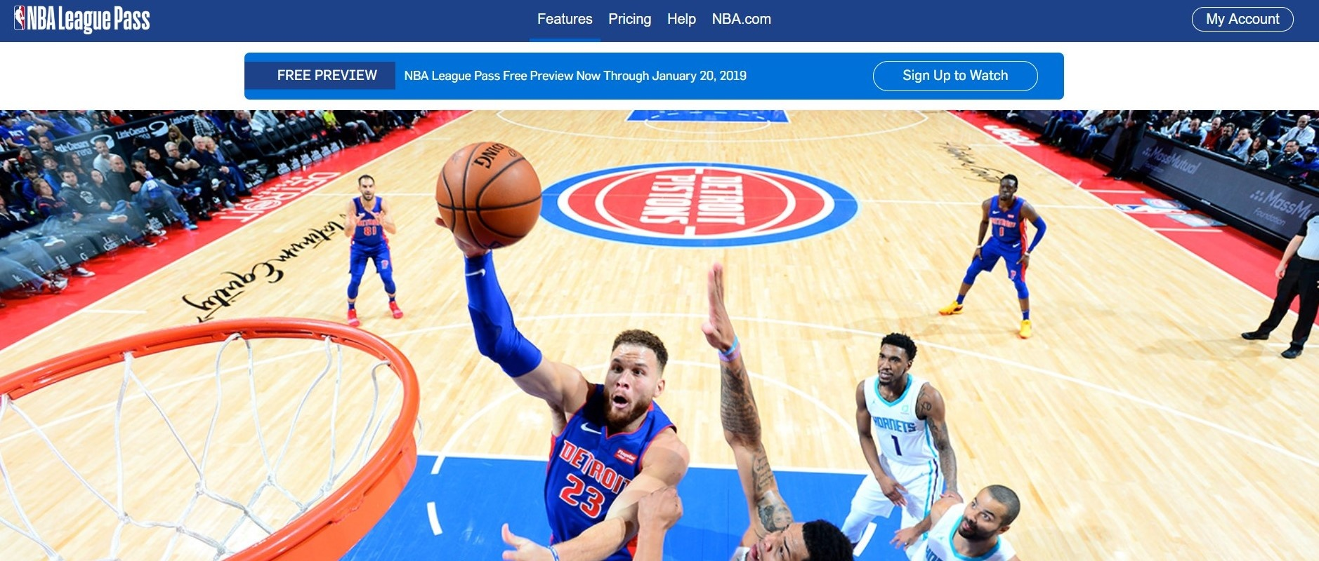 Thumbnail for NBA League Pass