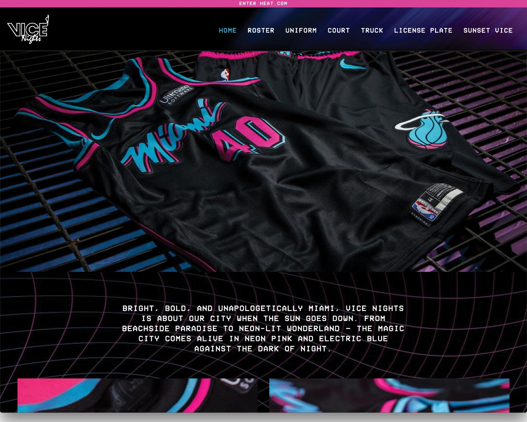d6b5d7b65ca2 Miami HEAT - VICE Nights Website
