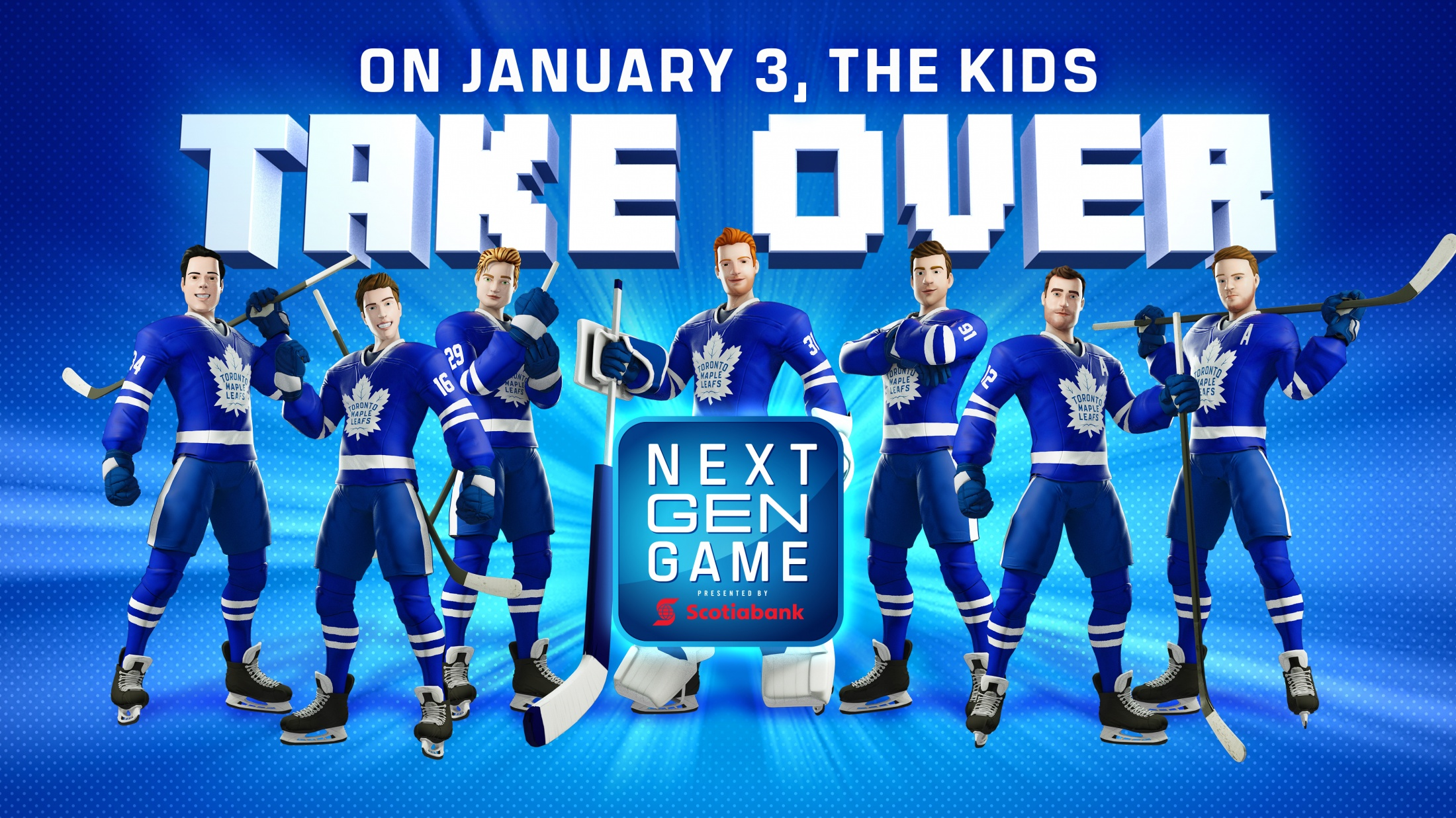 Thumbnail for Toronto Maple Leafs - Next Gen Game