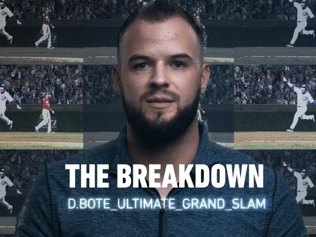 Thumbnail for The Breakdown - David Bote's Ultimate Grand Slam Home Run.