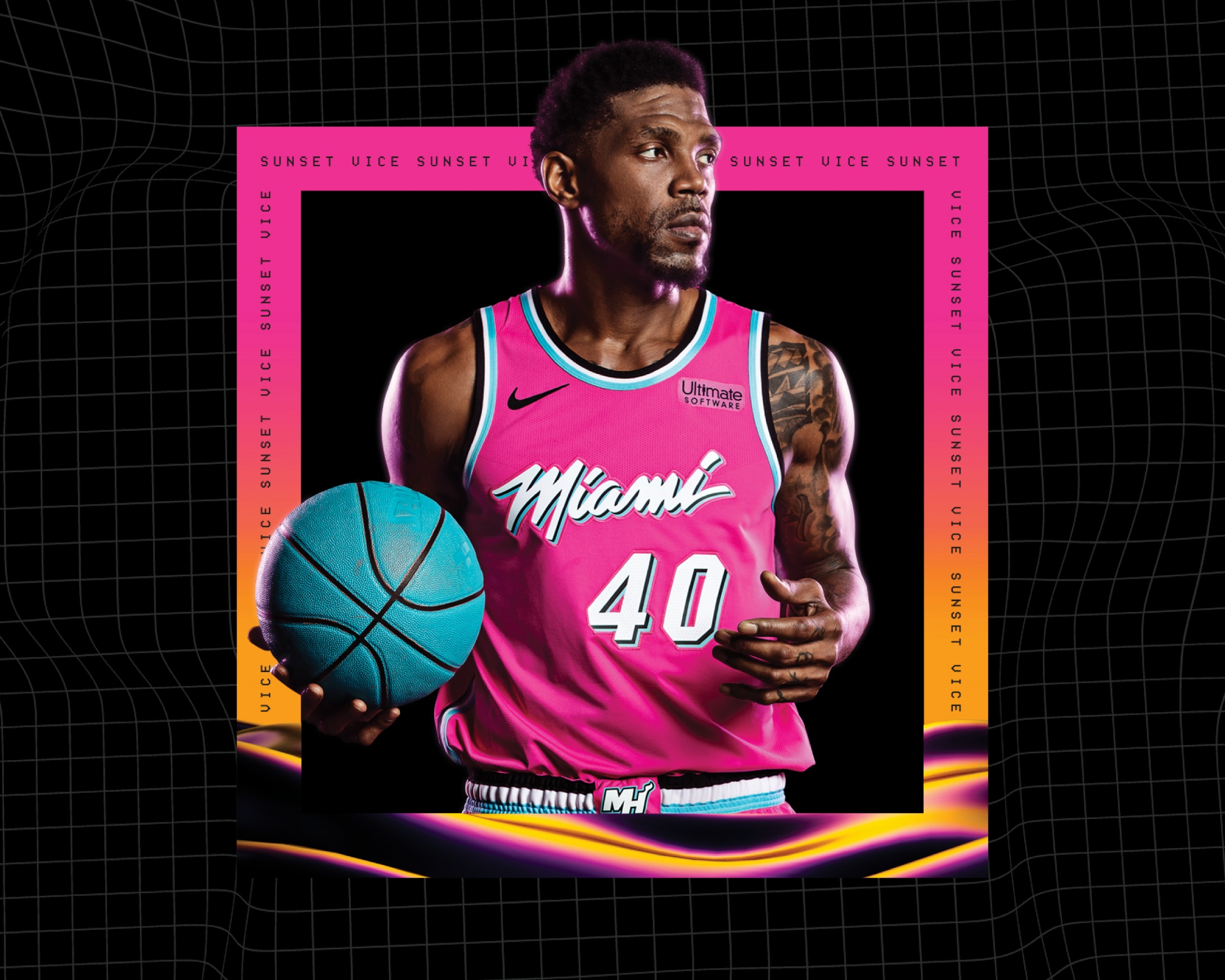 promo code 35f63 dcd50 Miami HEAT - Sunset Vice Intro | Clios