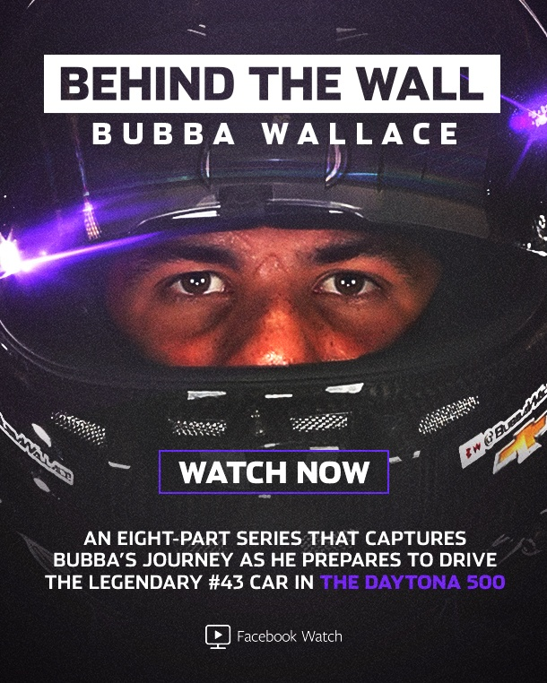 Image Media for Behind The Wall: Bubba Wallace