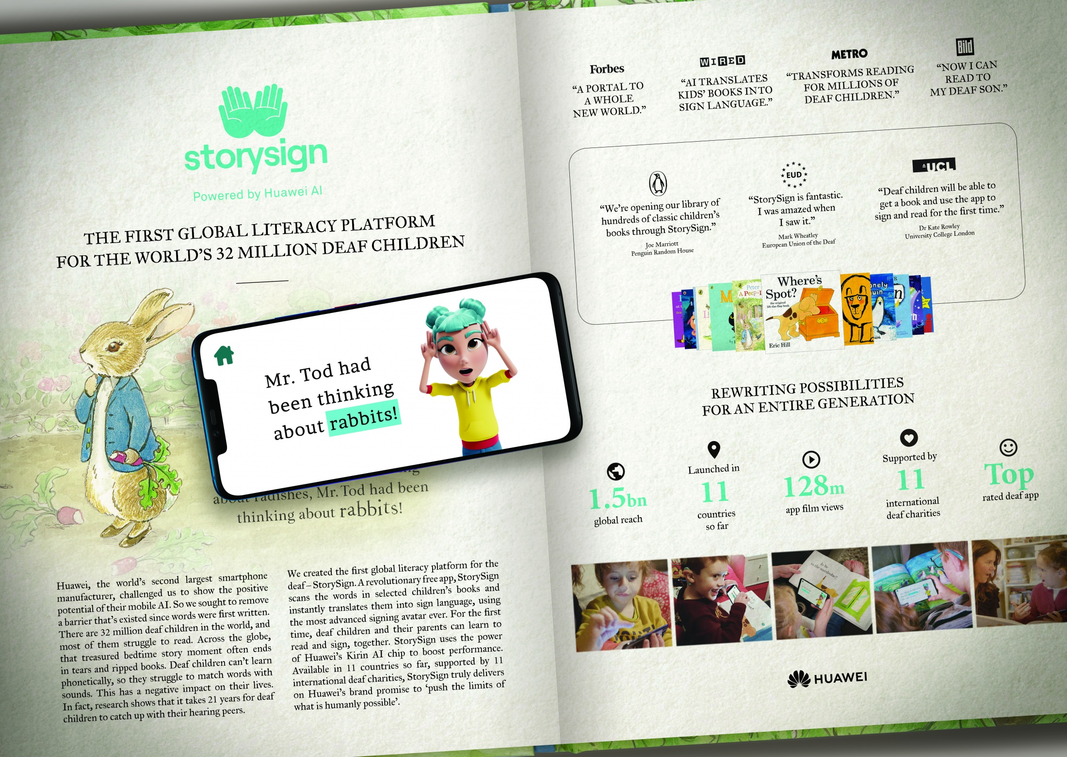 Image Media for StorySign
