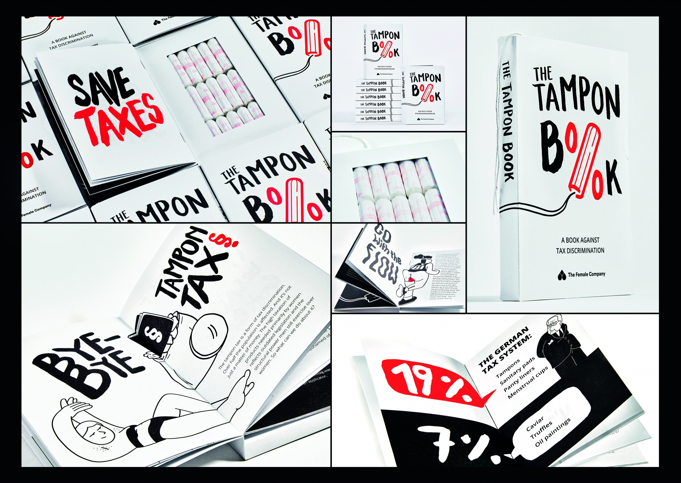 Thumbnail for The Tampon Book: a book against tax discrimination