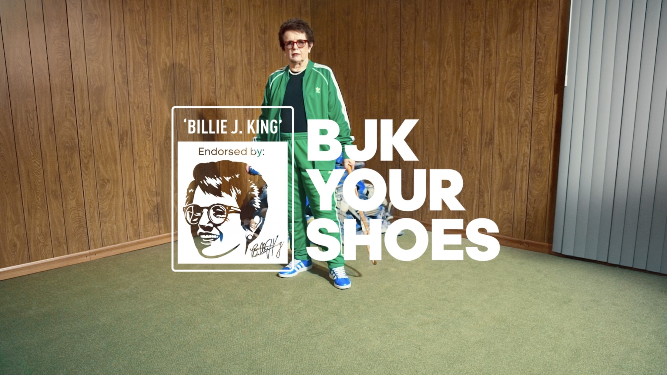 Image Media for Billie Jean King Your Shoes