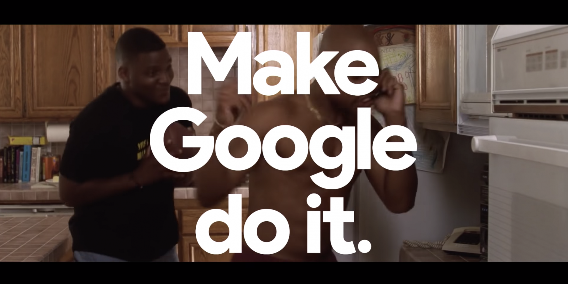 Thumbnail for #HeyGoogle, Let's Go to the Movies