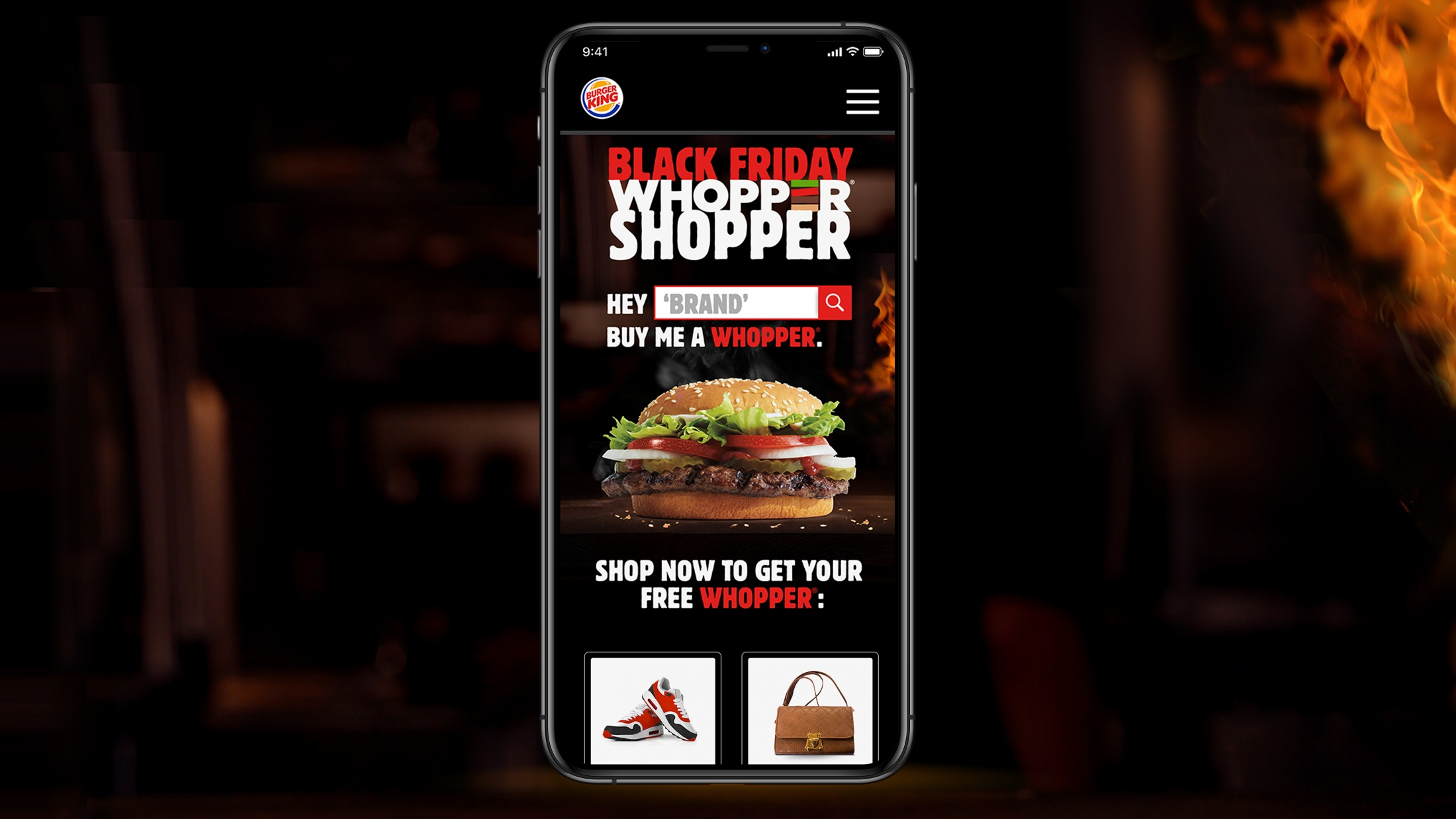 Image Media for Black Friday Whopper Shopper