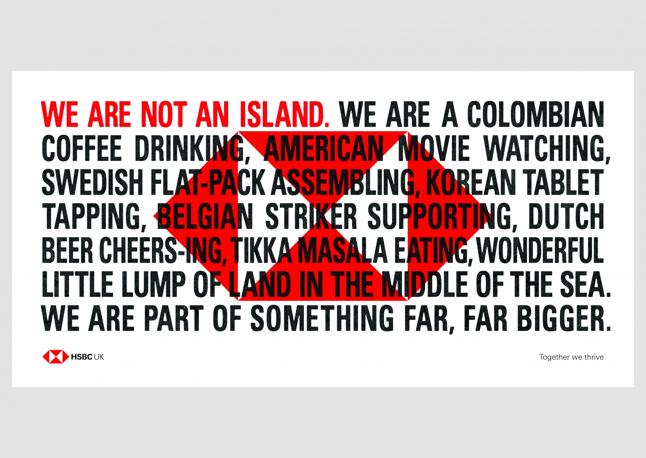 Thumbnail for We are not an Island