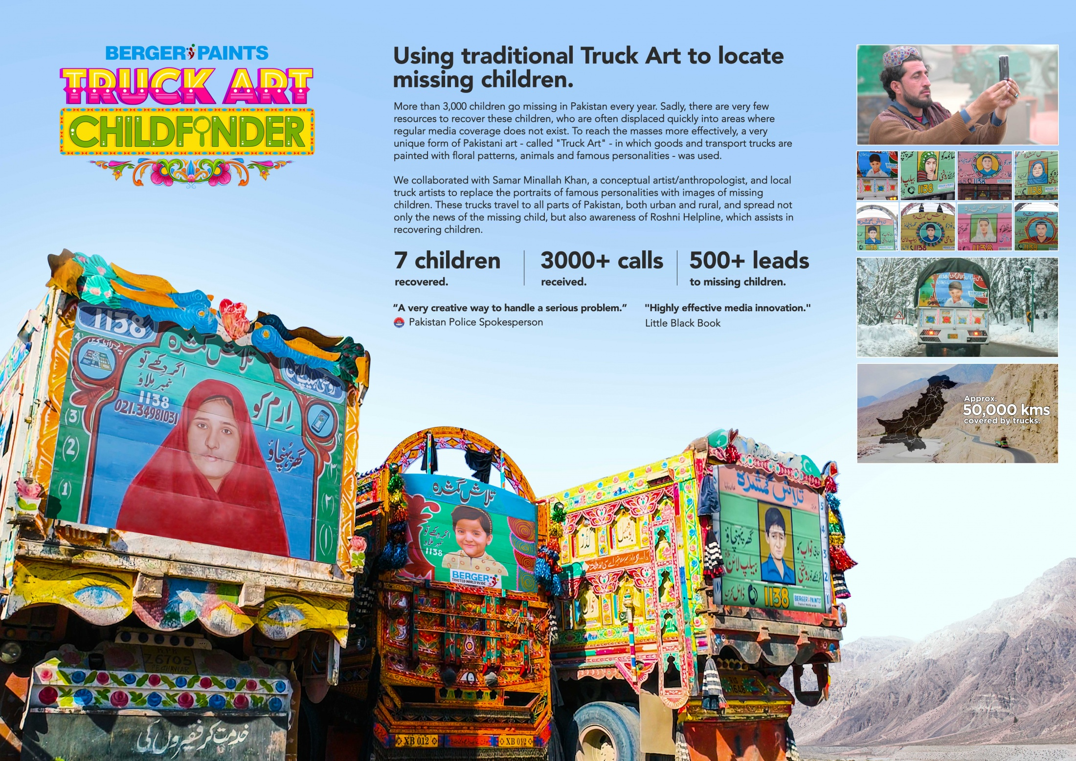 Image Media for Truck Art Childfinder