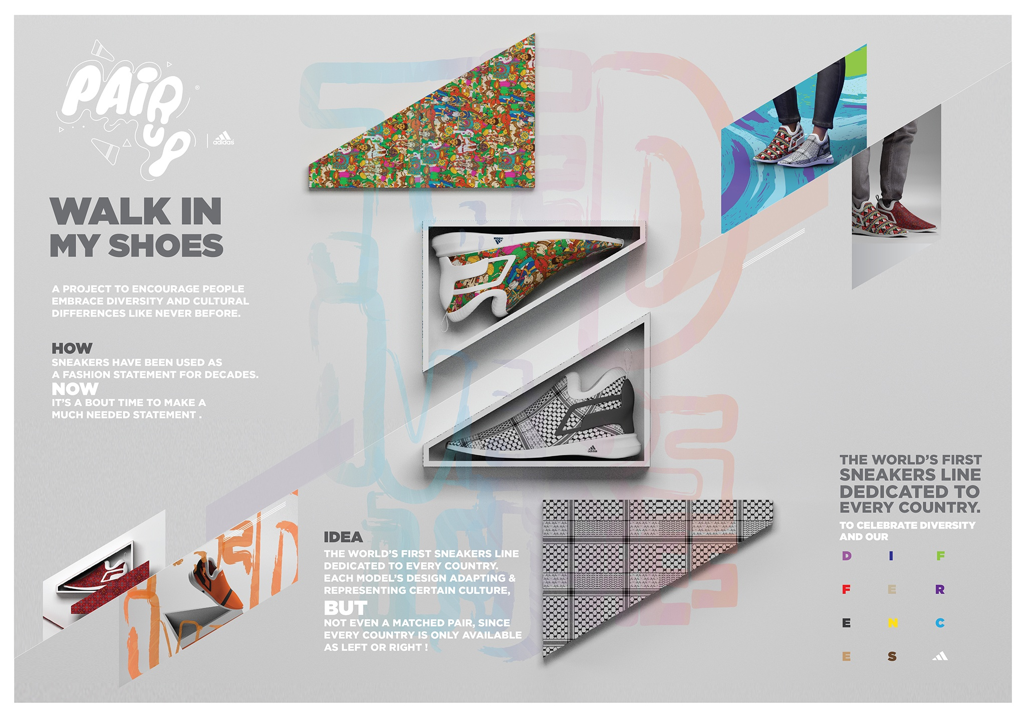 Thumbnail for Adidas - PairUp-WalkInMyShoes