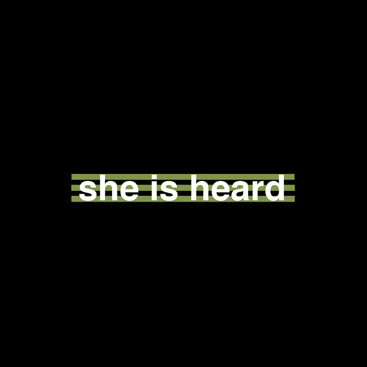 Thumbnail for she is heard