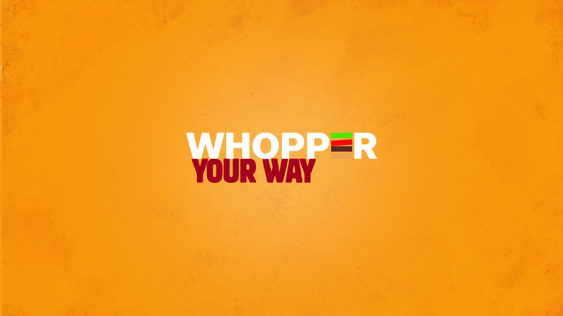Thumbnail for Whopper your way