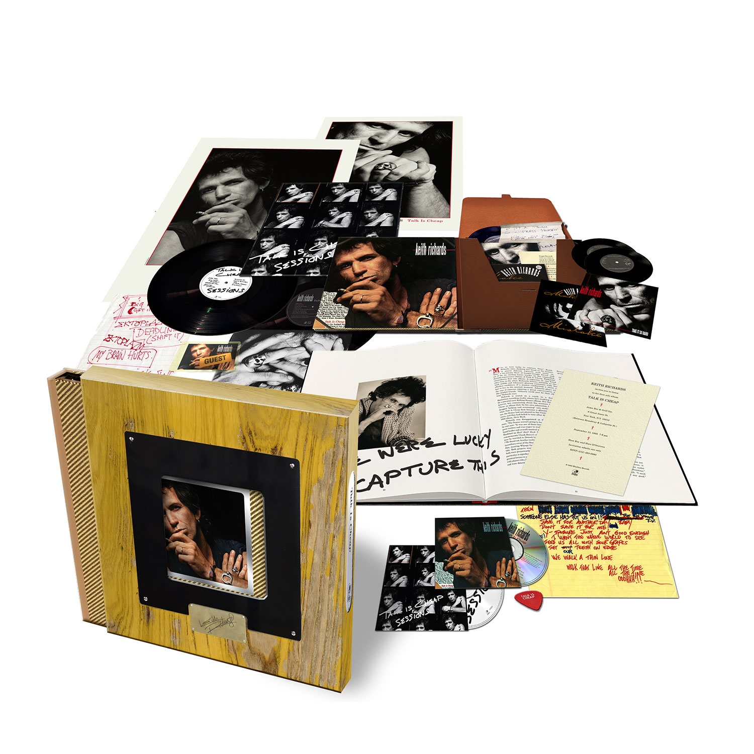 Thumbnail for Keith Richards - Talk Is Cheap - 30th Anniversary Deluxe Box Set