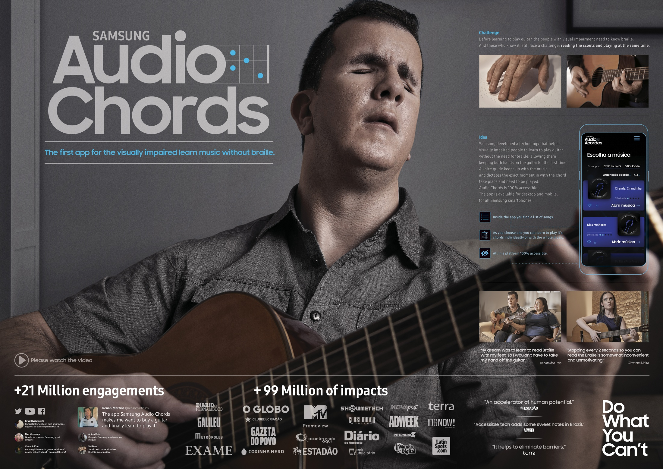 Image Media for Audio Chords