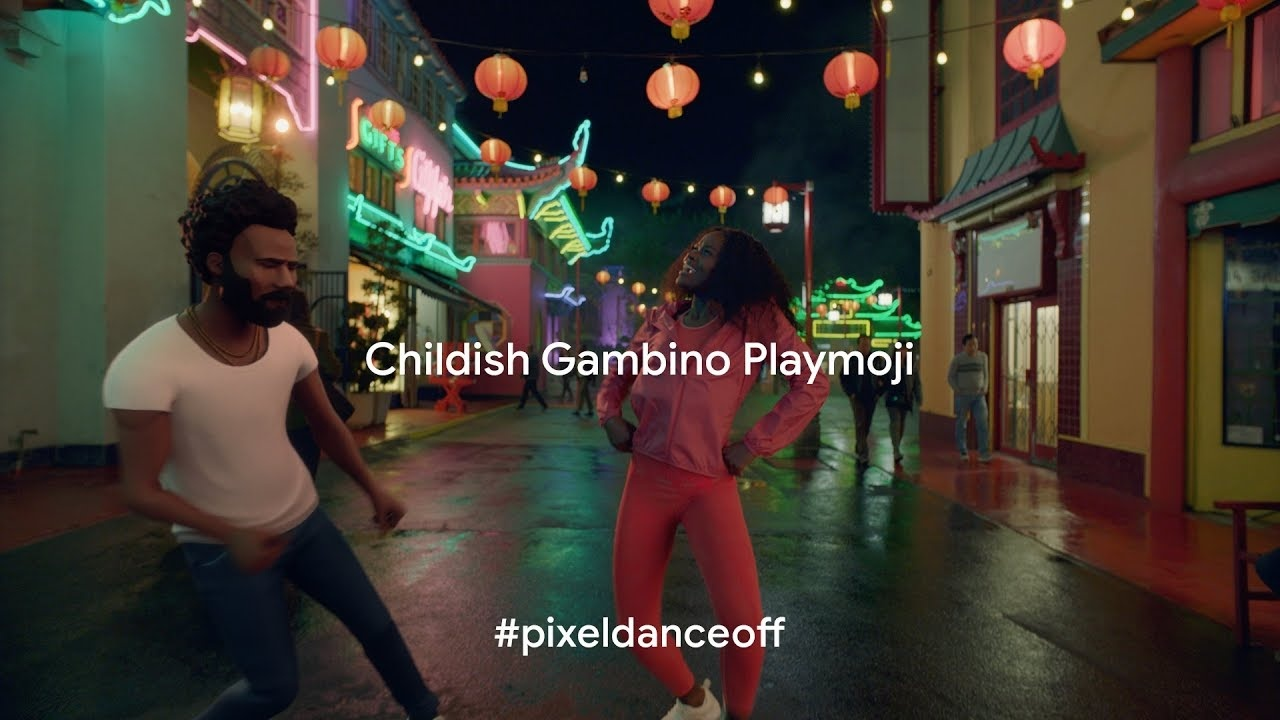 Image Media for Pixel 3: Childish Gambino Playmoji
