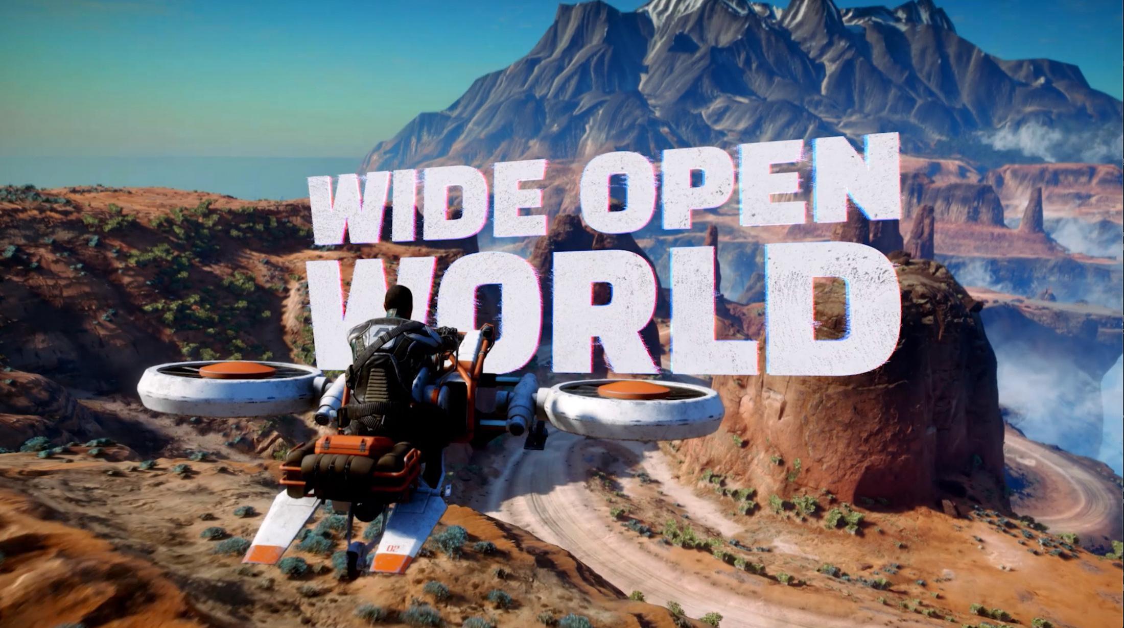 Thumbnail for Open World Trailer