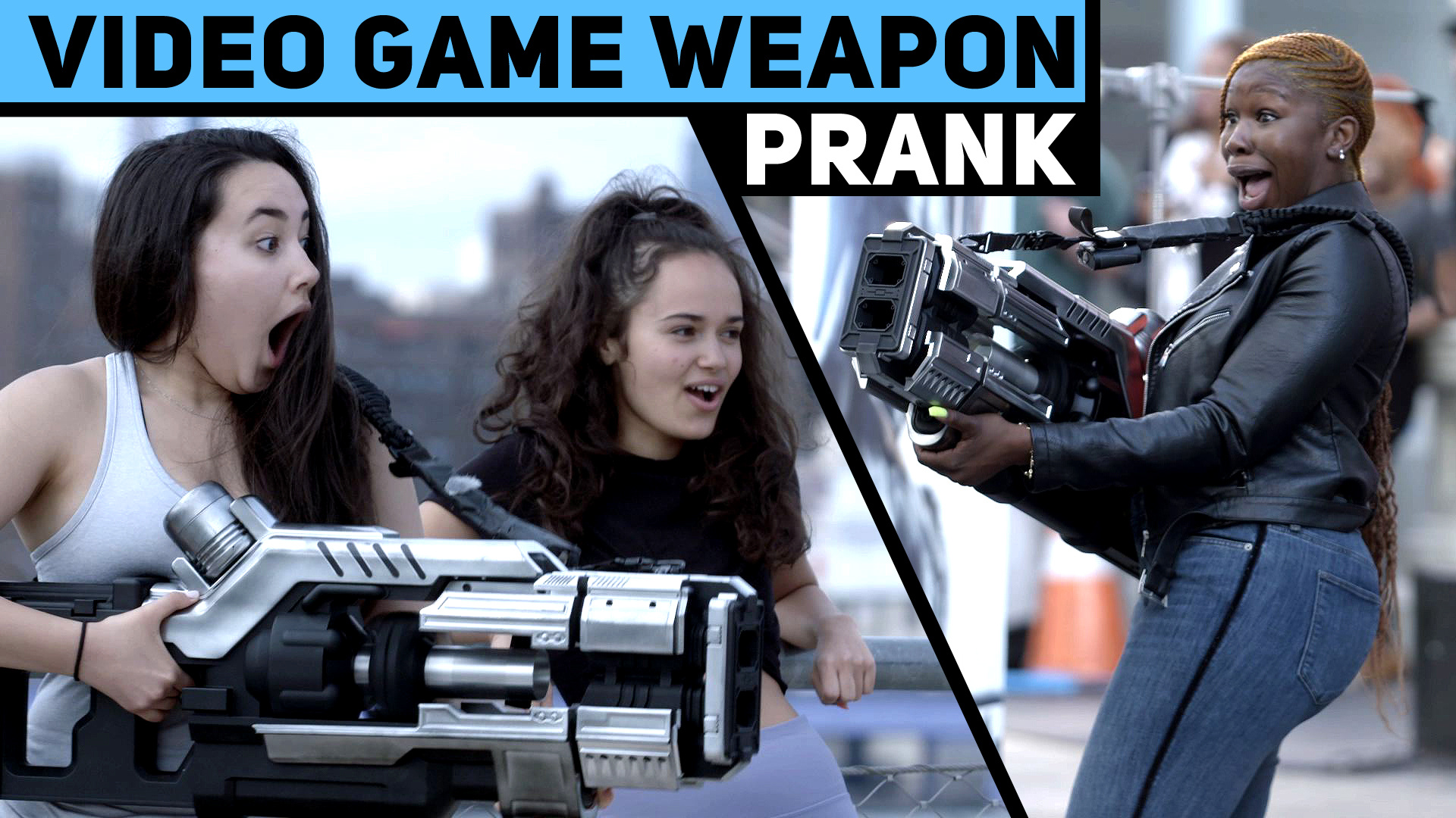 Thumbnail for Video Game Weapon Prank